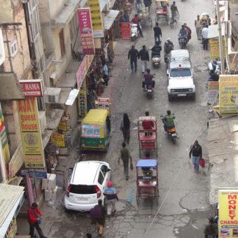 Koszmarny poranek w Delhi