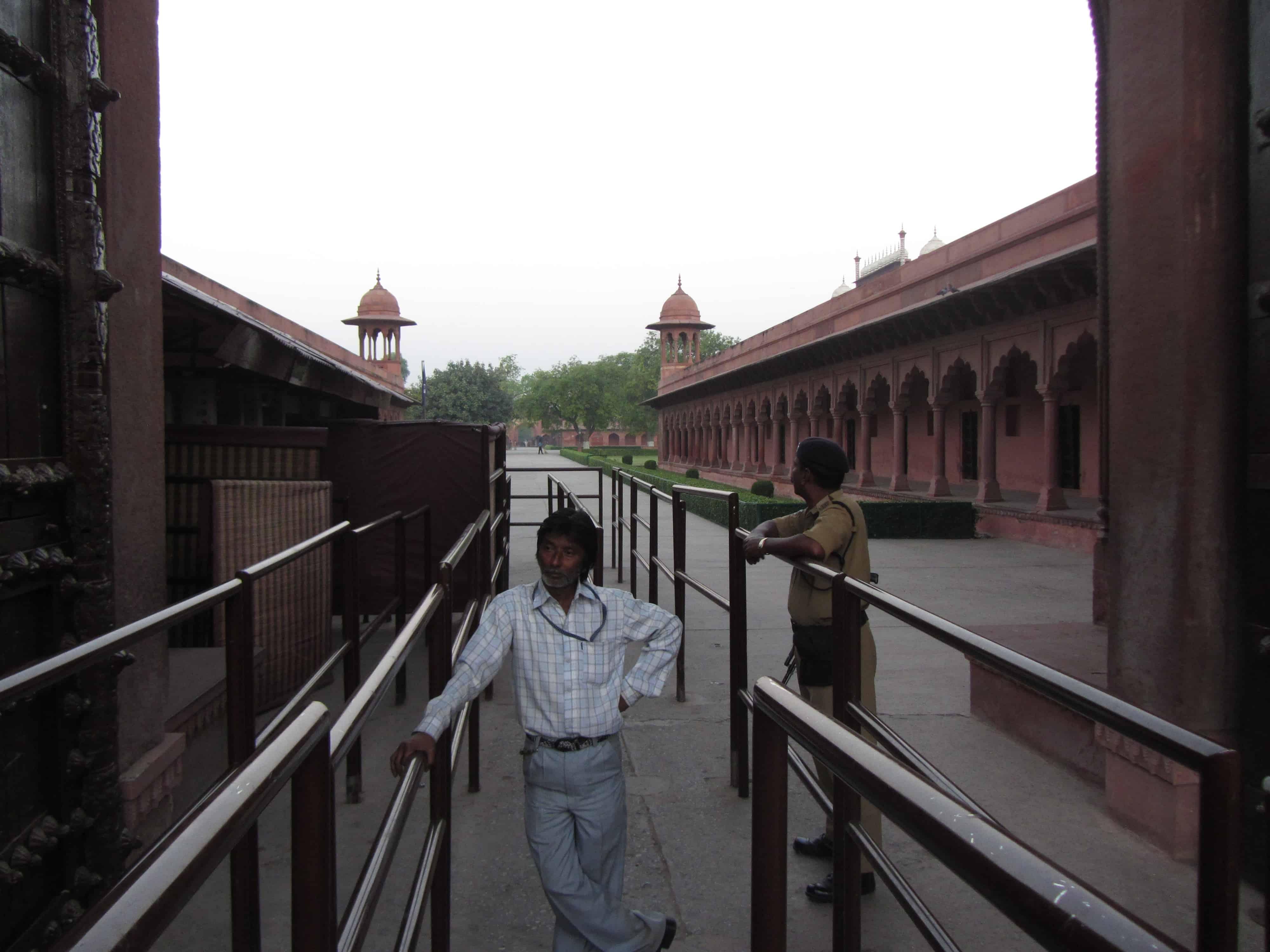 Taj Mahal zwiedzanie