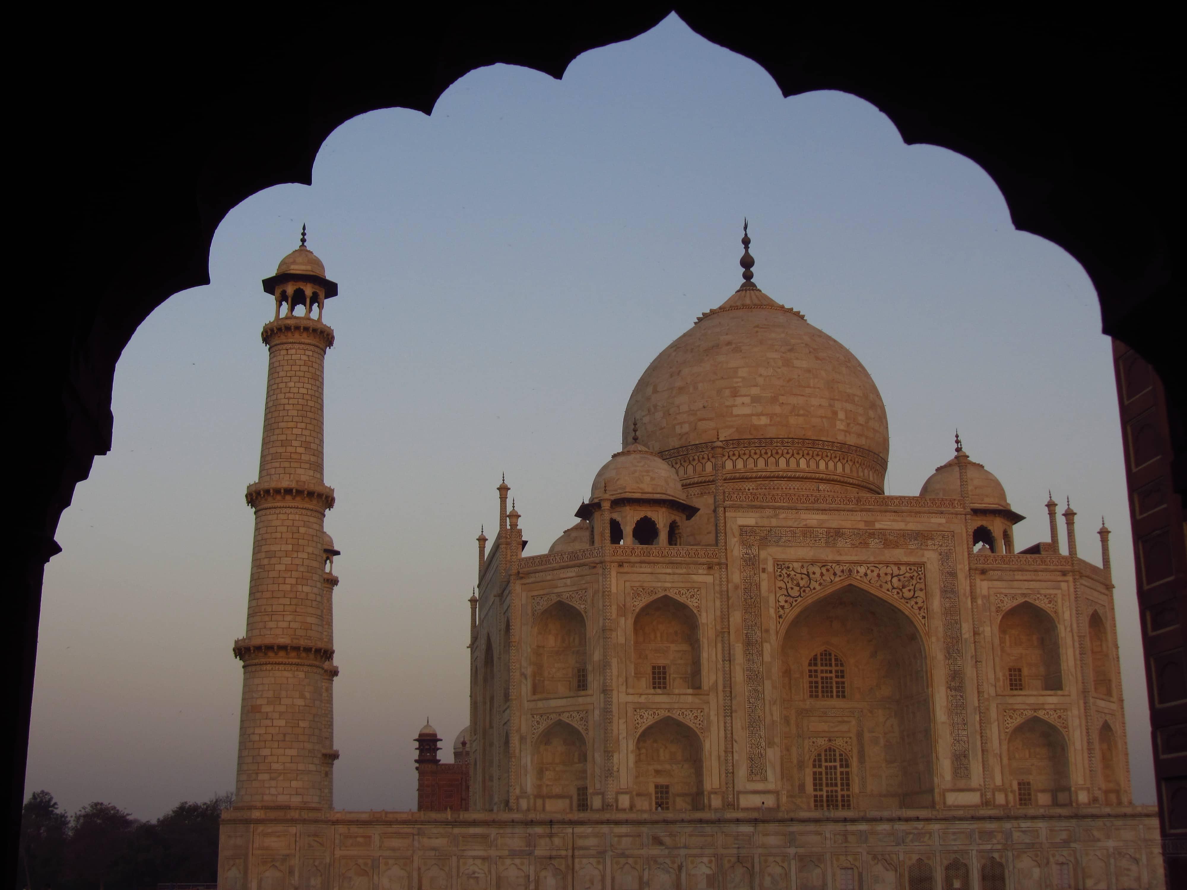 Taj Mahal o poranku