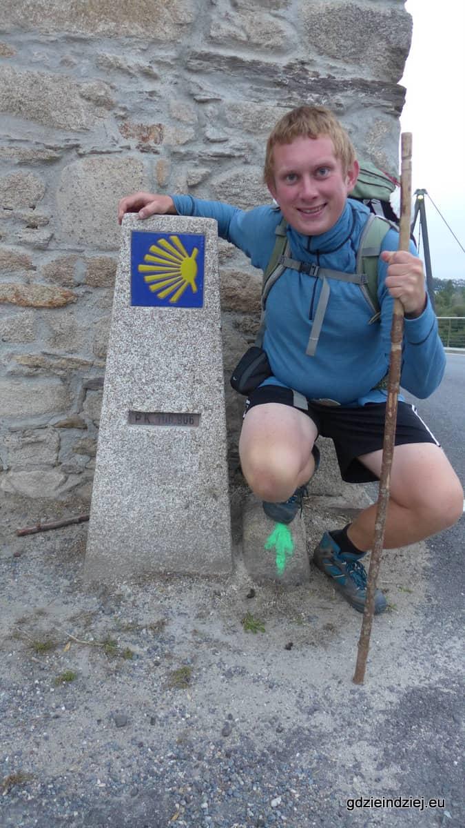 Camino de Santiago, 100 km