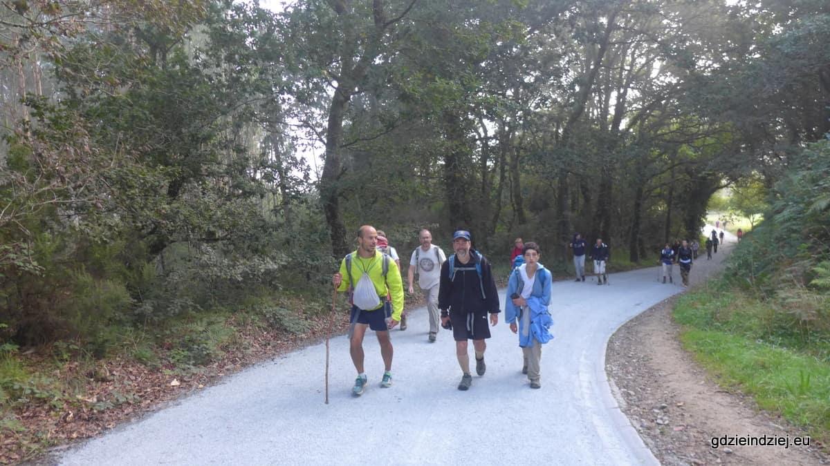 Camino last day