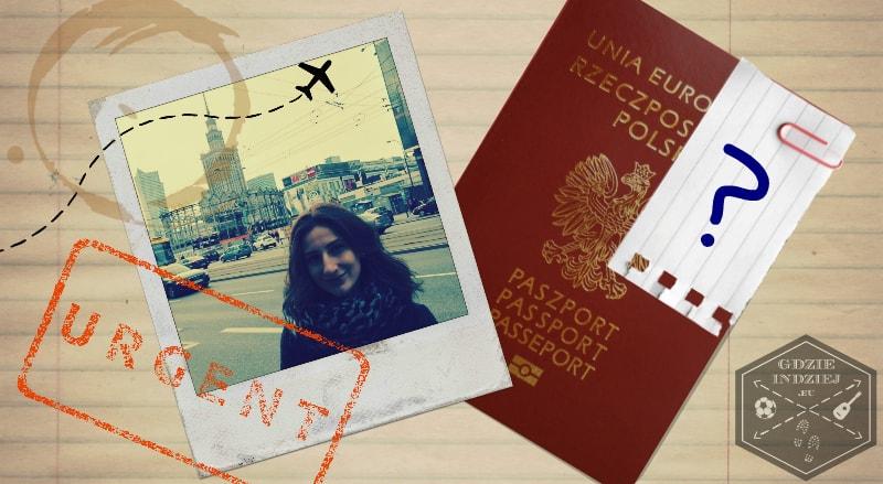 wymiana paszportu po ślubie; podróż poślubna