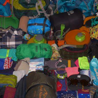 Plecak na półroczną podróż
