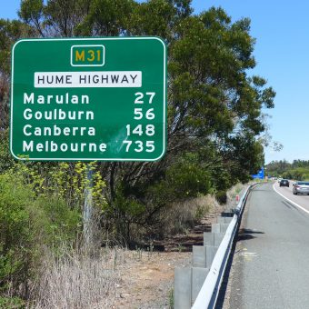 Australia autostopem – z Kiamy do Melbourne