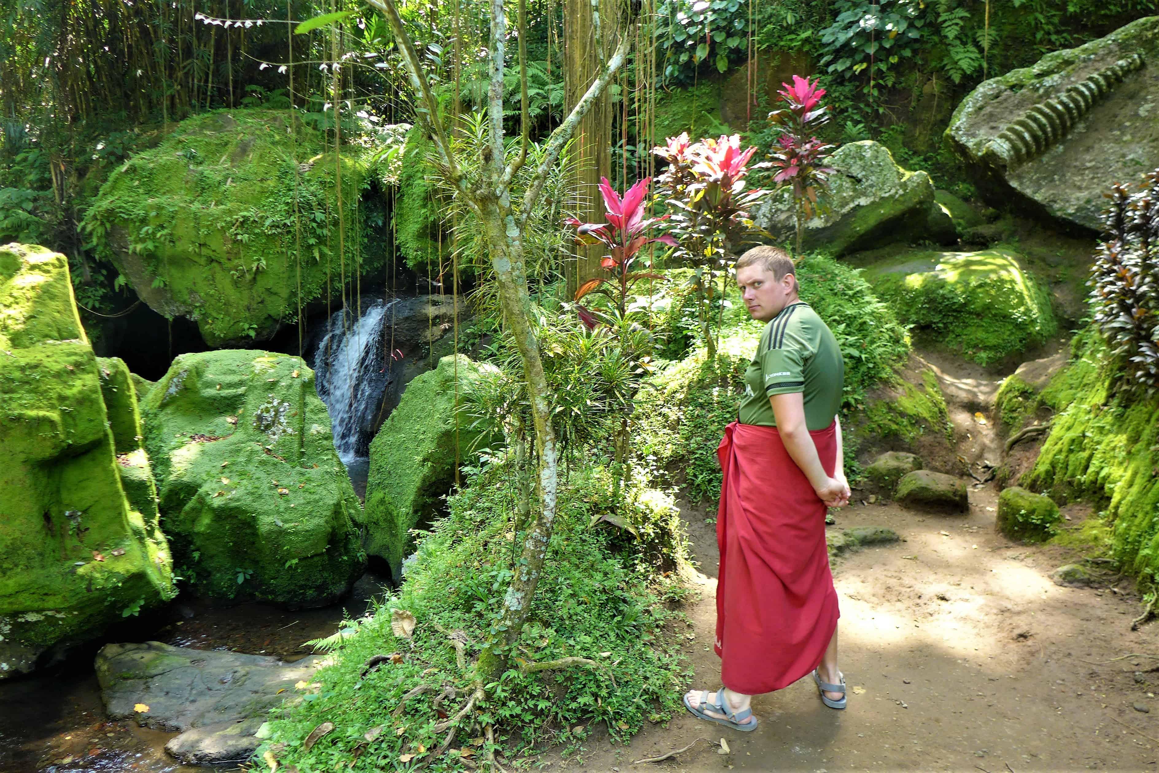 Zwiedzanie Bali: Goa Gajah