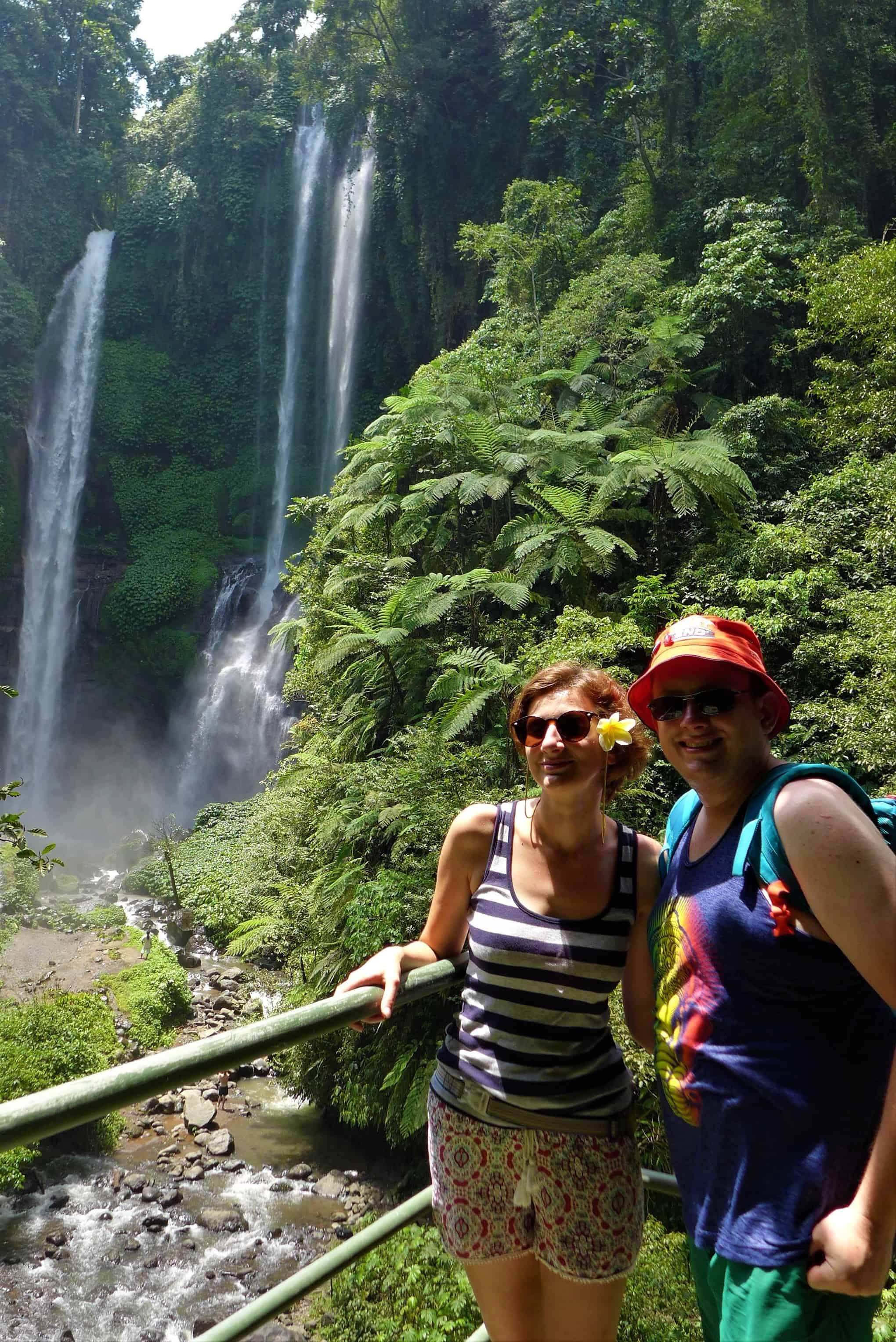 Zwiedzanie Bali, Sekumpul waterfalls