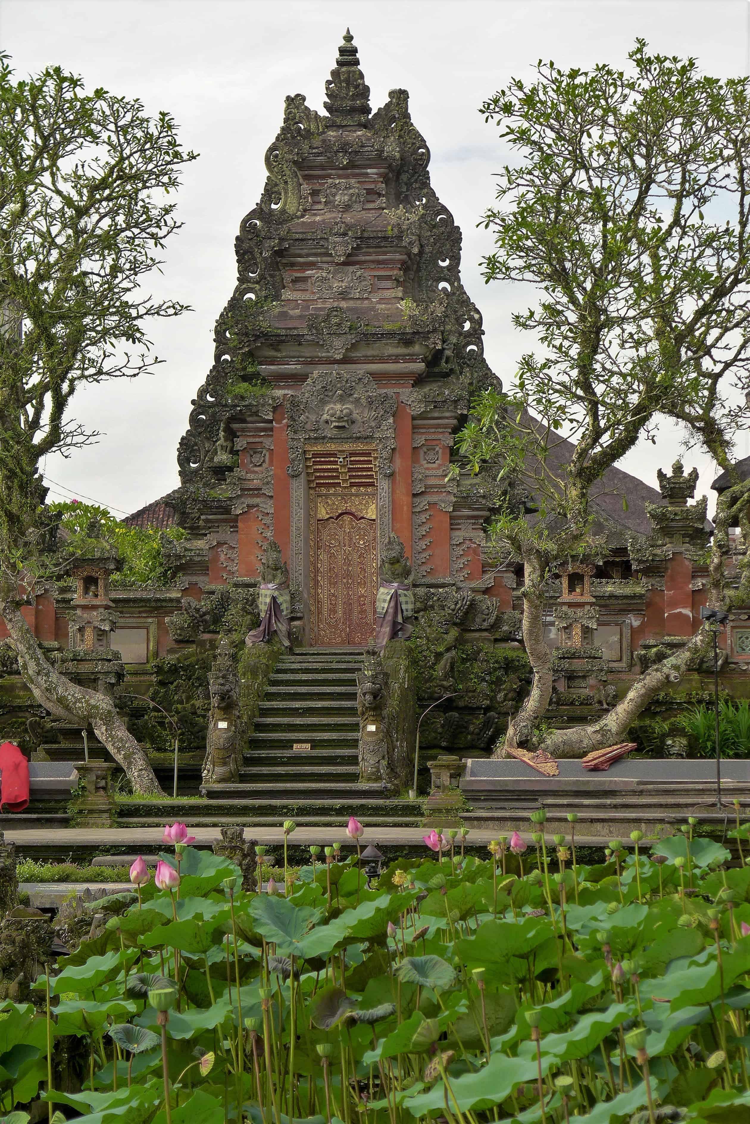 Sarsawati Temple, Ubud