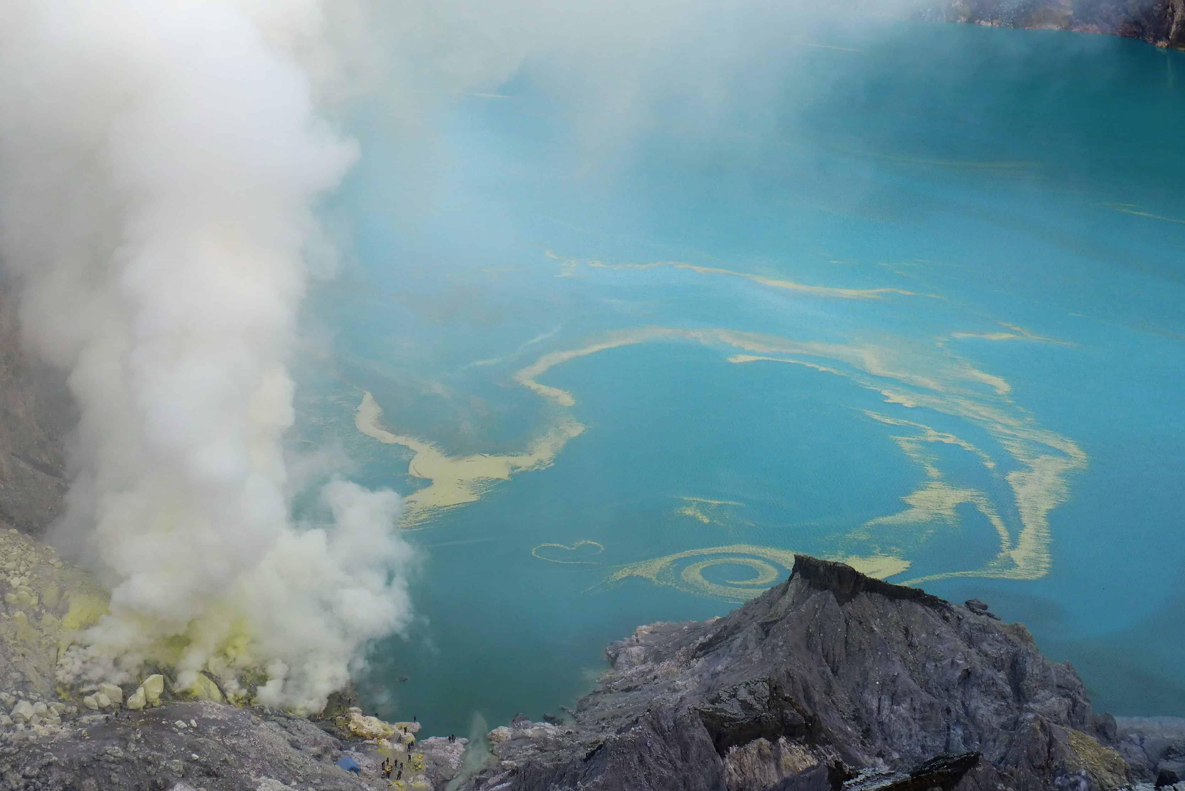 treking w Indonezji, Ijen