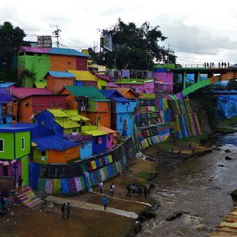 Jodipan – kolorowa wioska na Jawie
