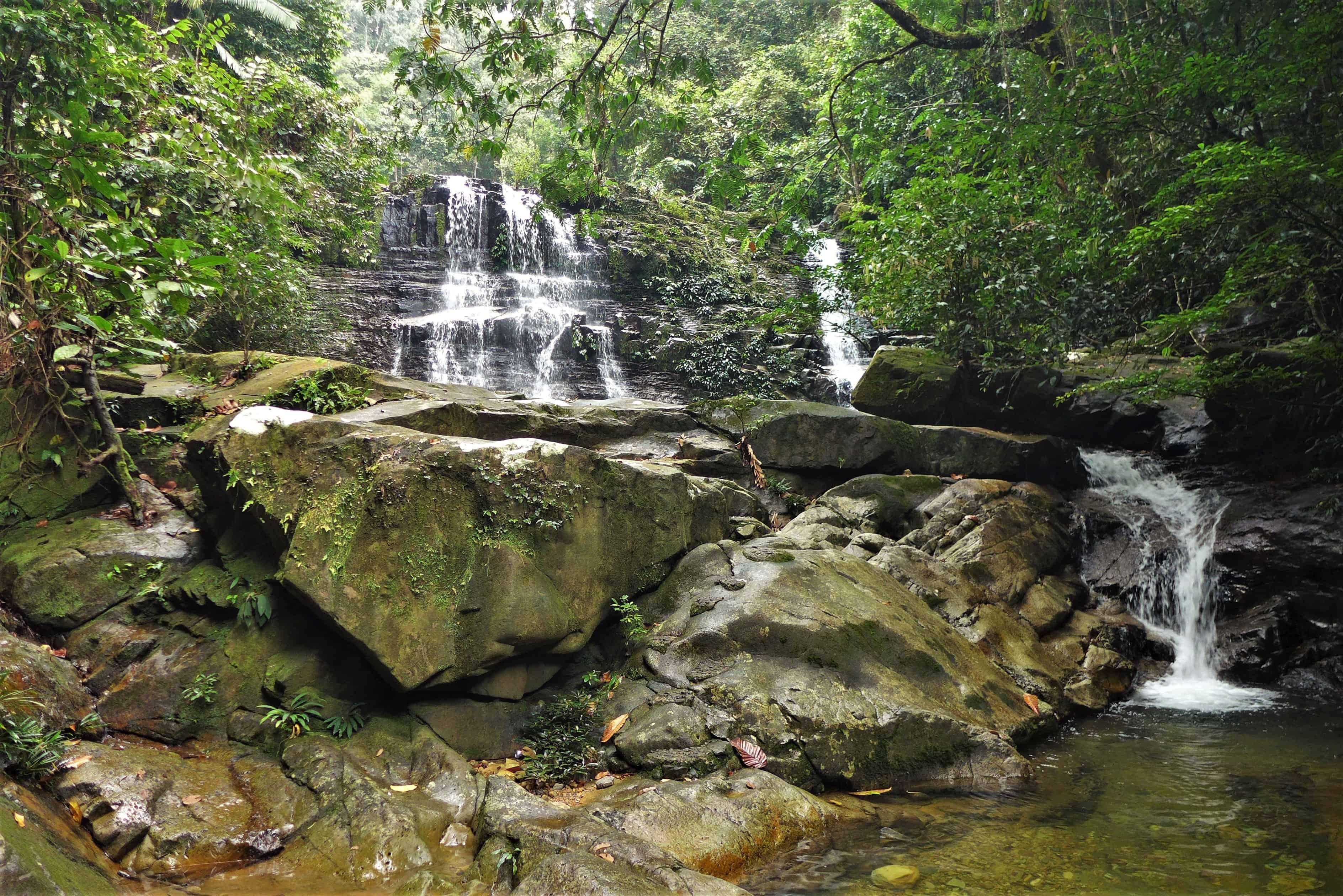Kubah, waterfall