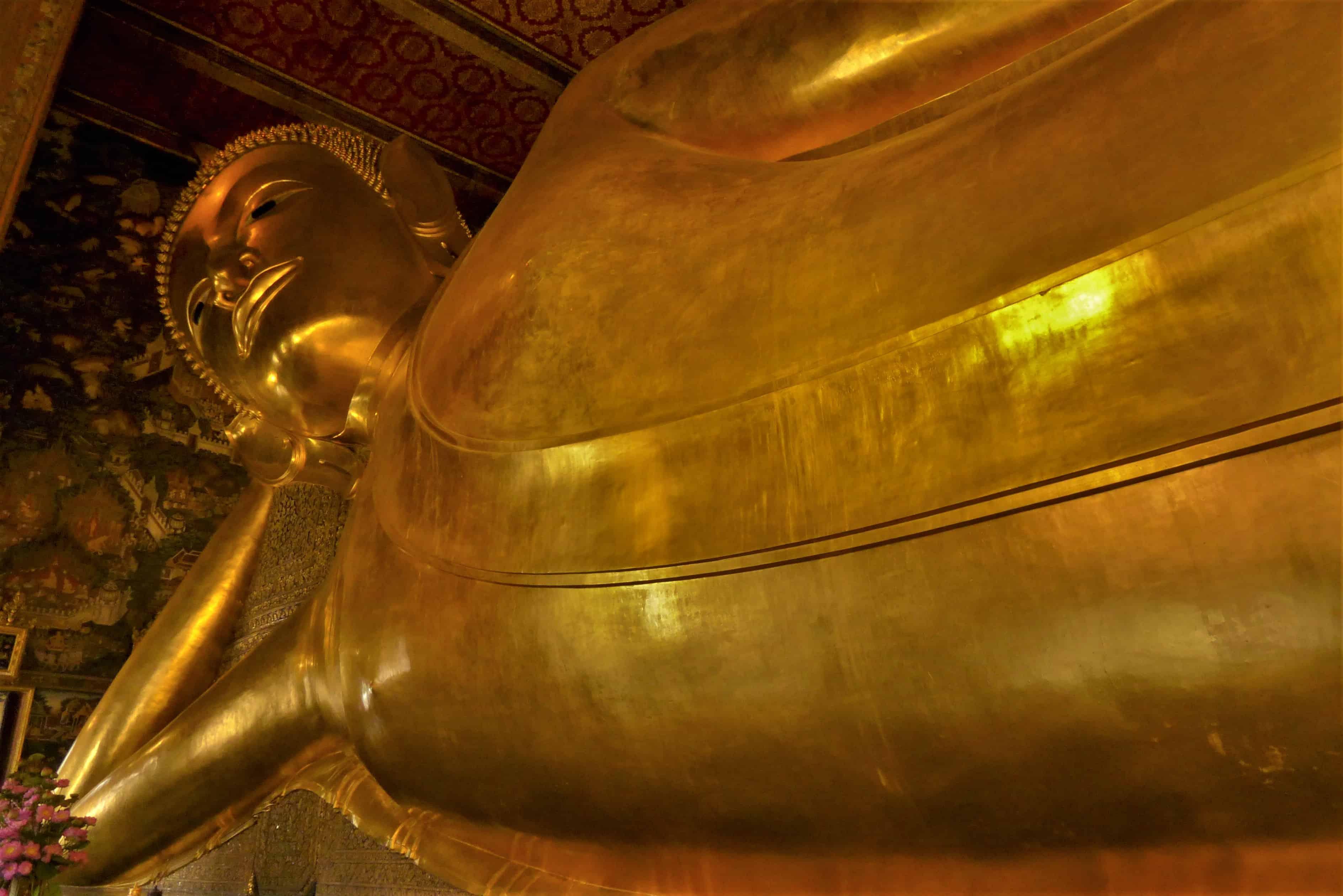 Bangkok, Wat Pho, Budda