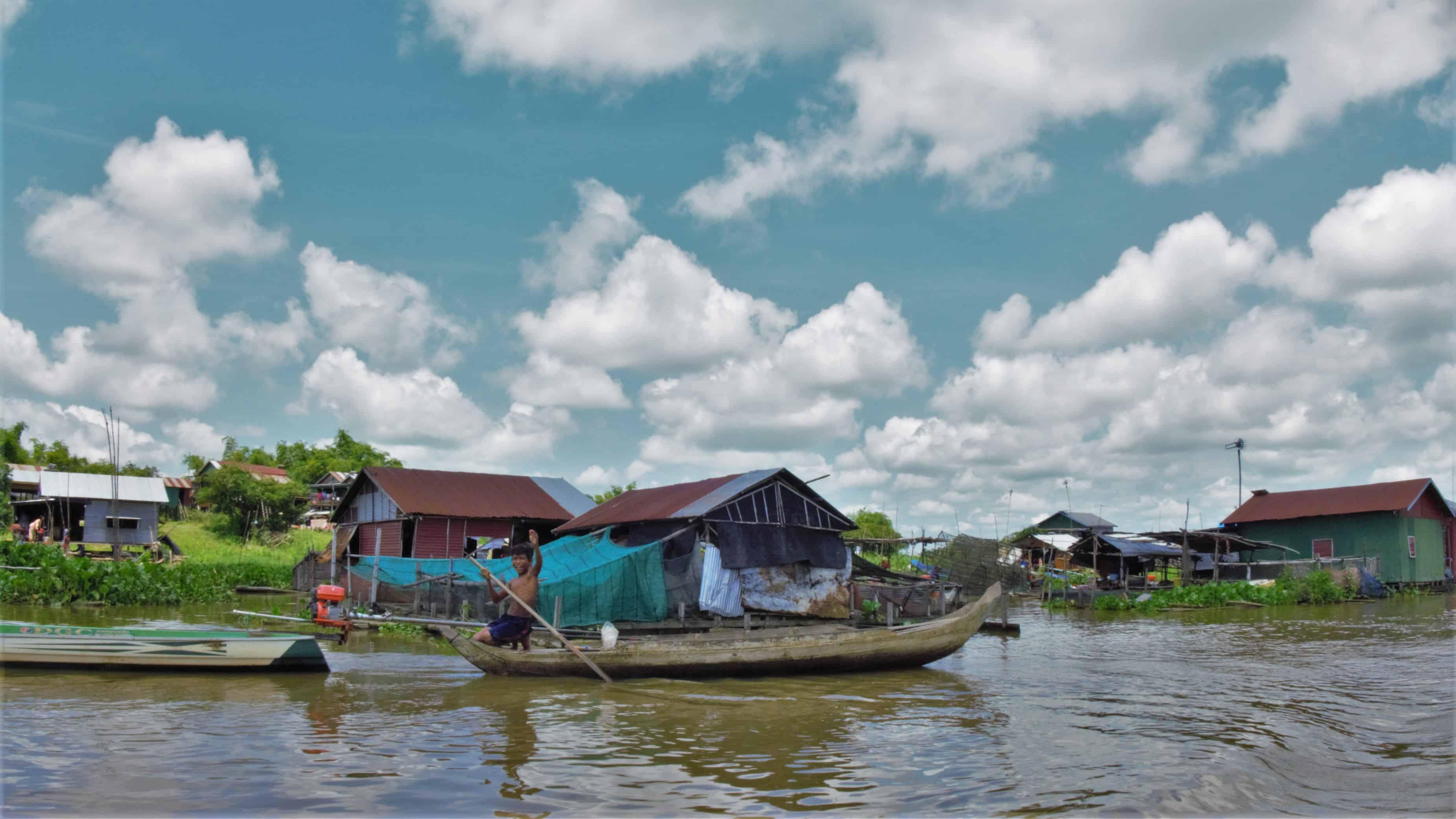 rejs do Siem Reap, Kambodża