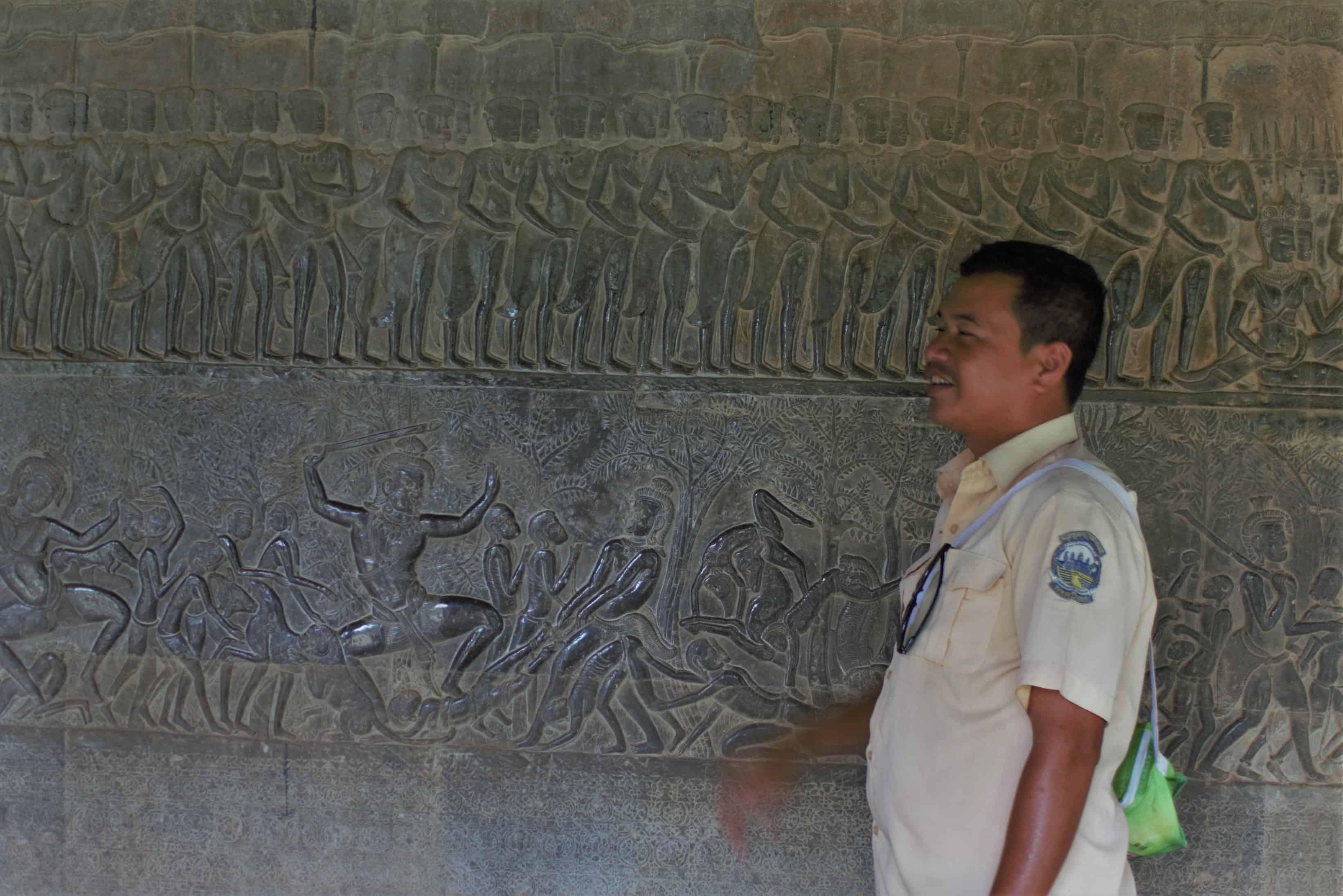 Angkor Wat, zwiedzanie z przewodnikiem