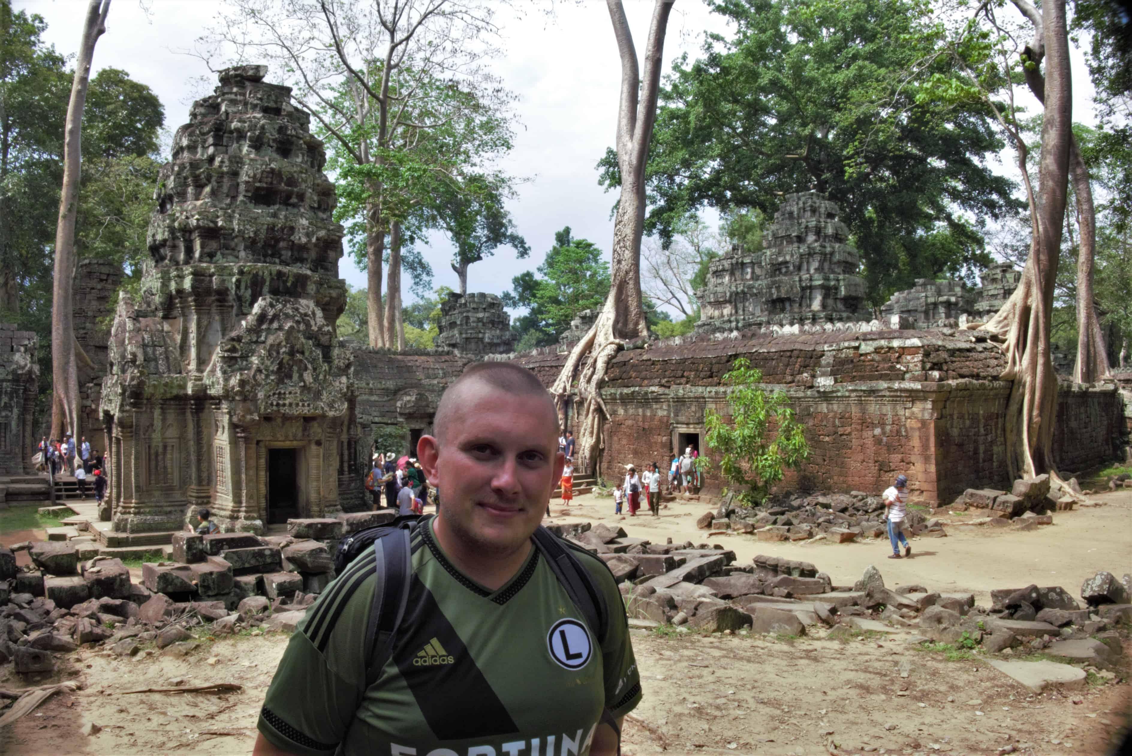 Ta Prohm, zwiedzanie Angkor