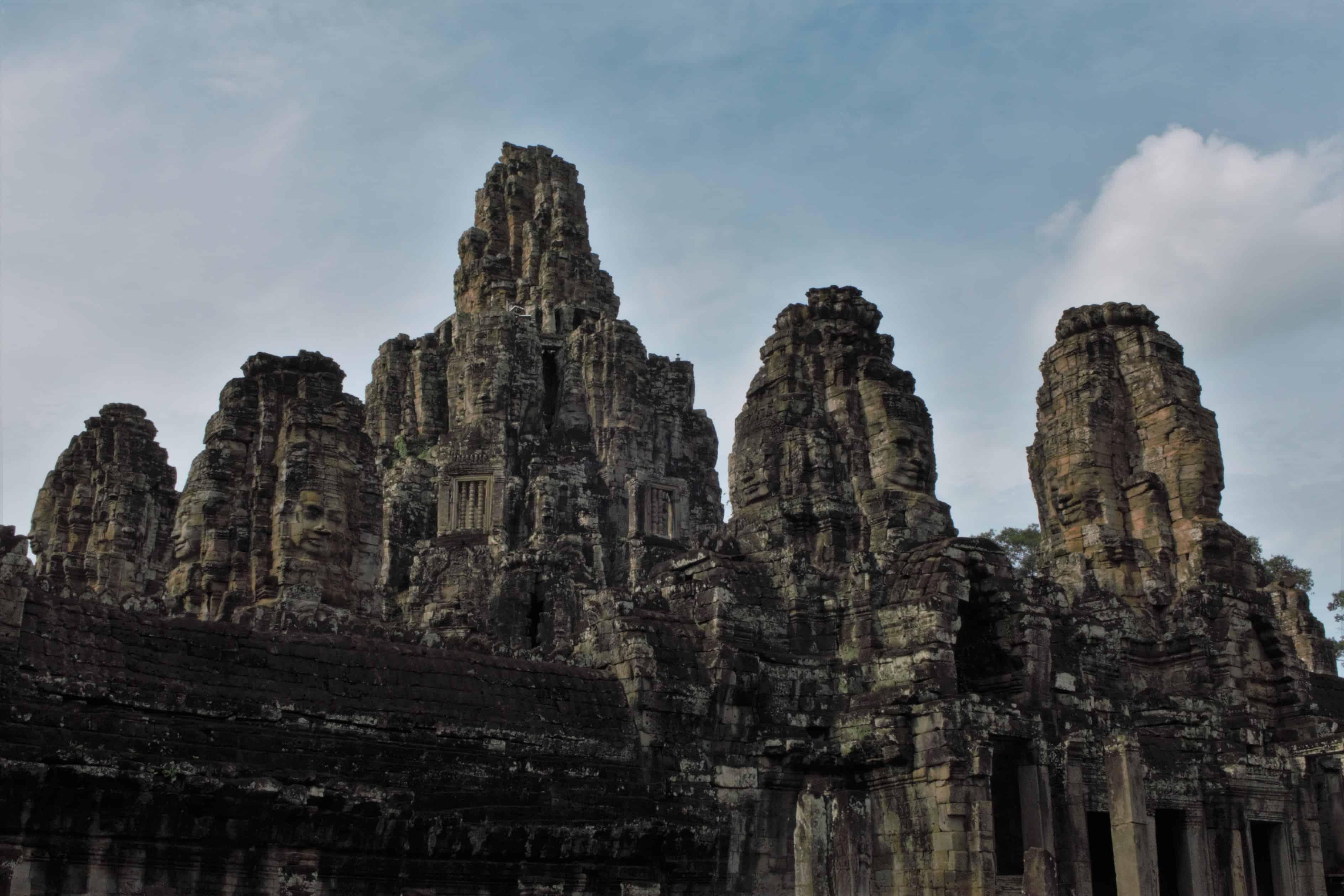 Bajon, Angkor, zwiedzanie