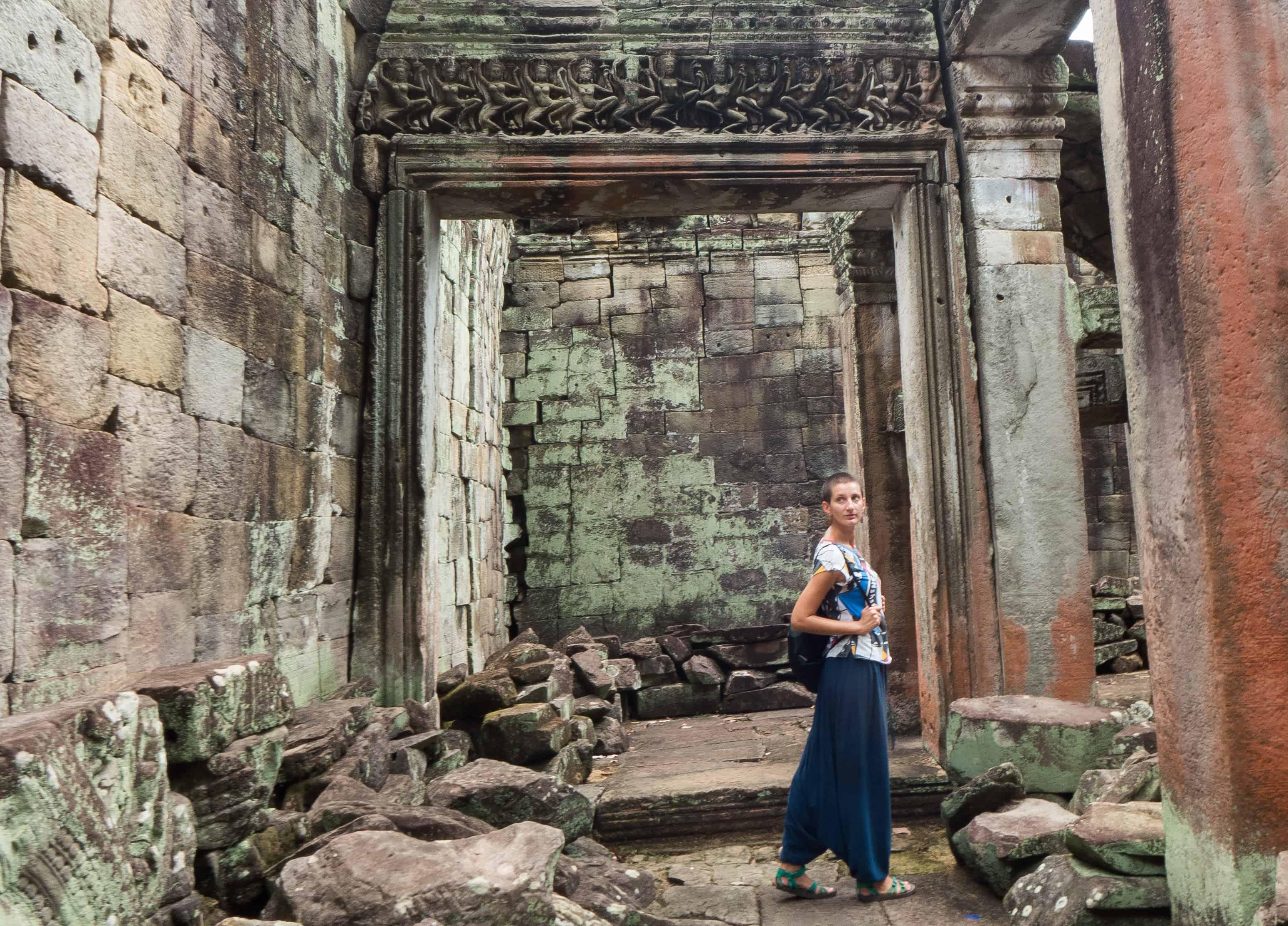 Preah Khan, zwiedzanie Angkor
