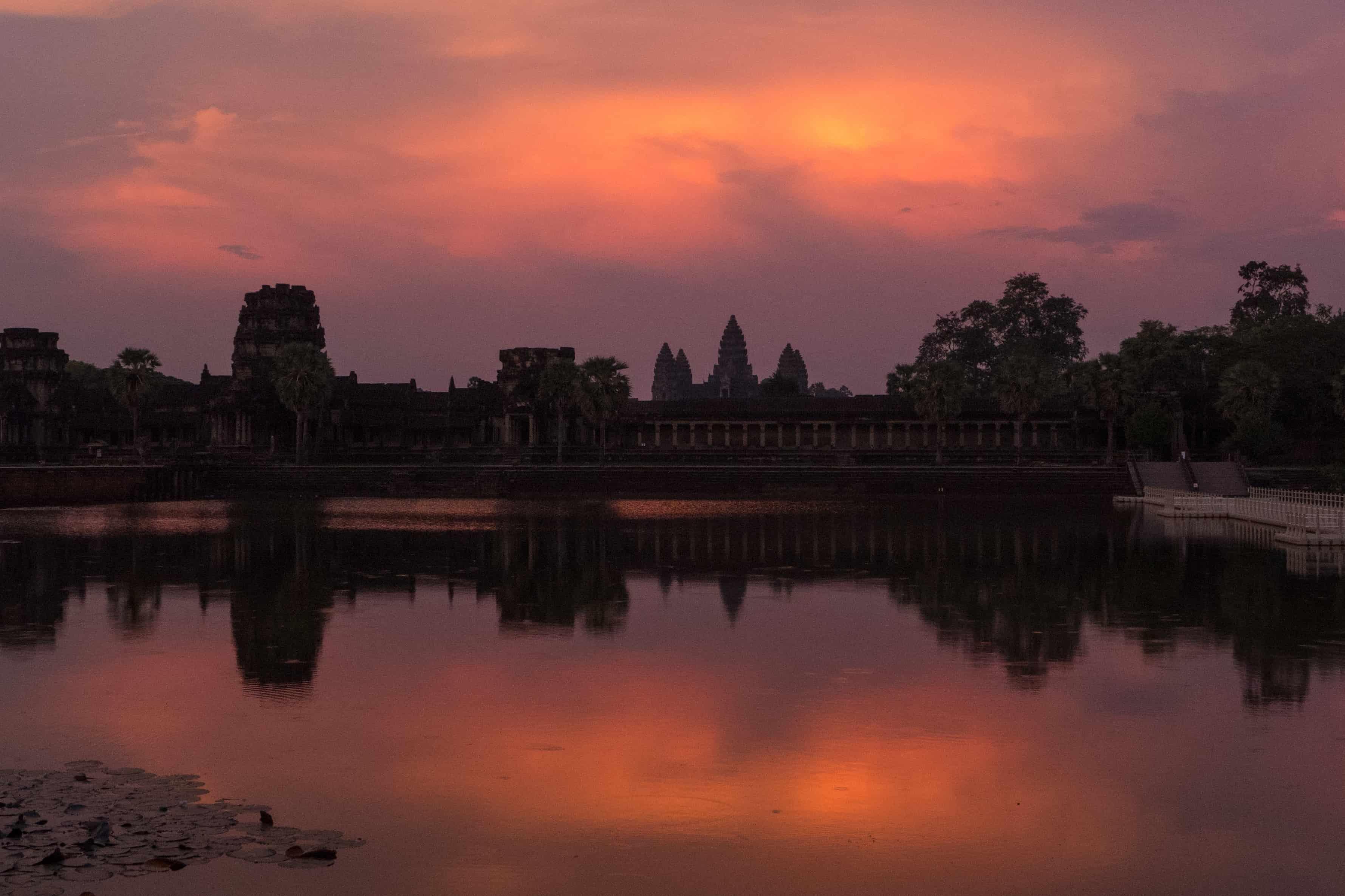 zwiedzanie Angkor Wat,
