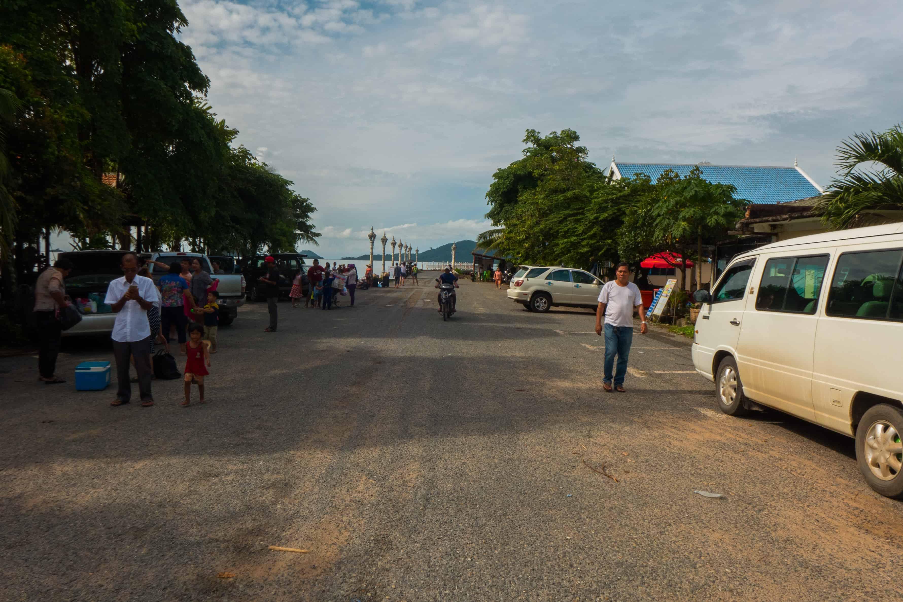 Koh Tonsay, boat
