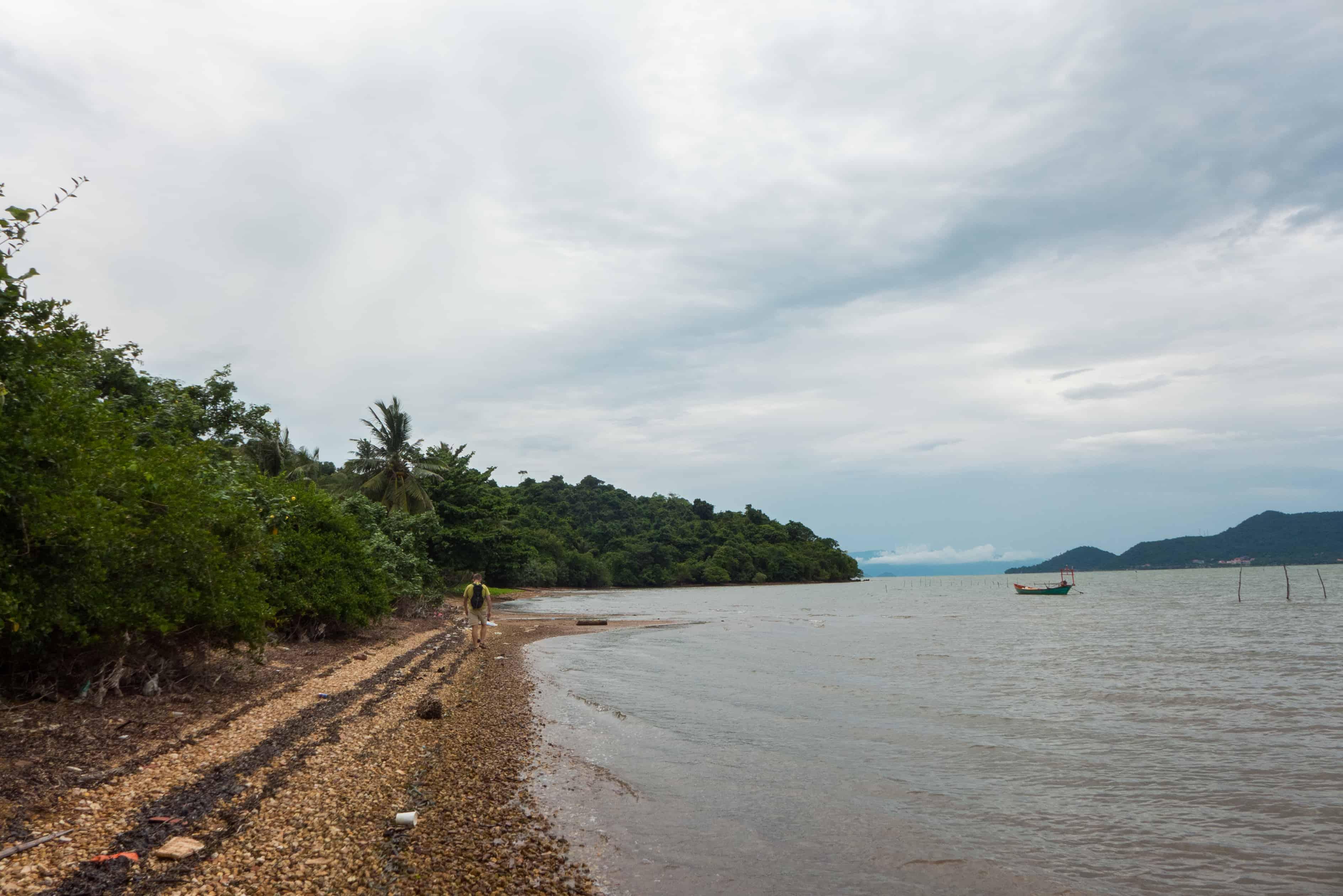 Koh Tonsay, dookoła wyspy