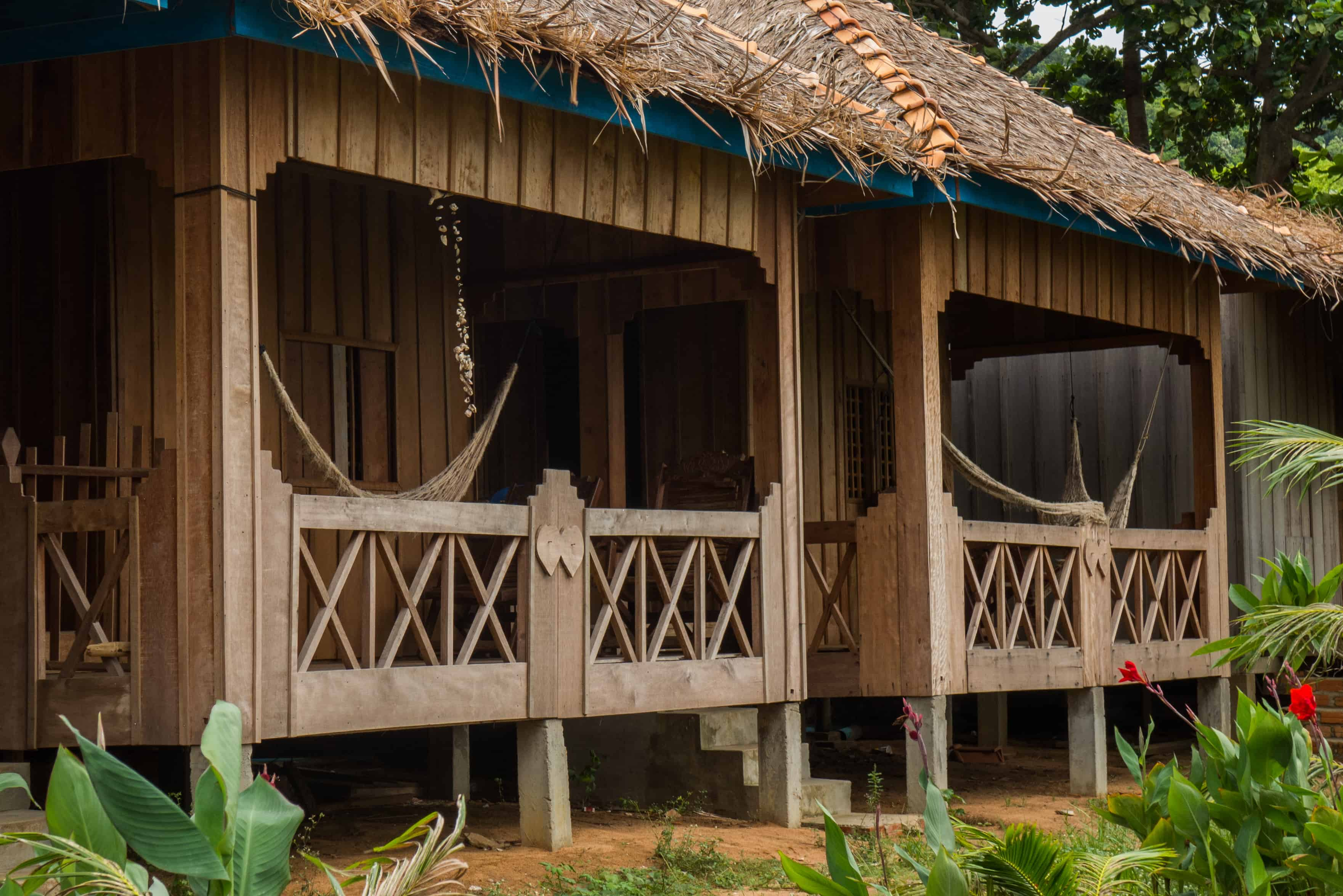 Koh Tonsay, bungalow