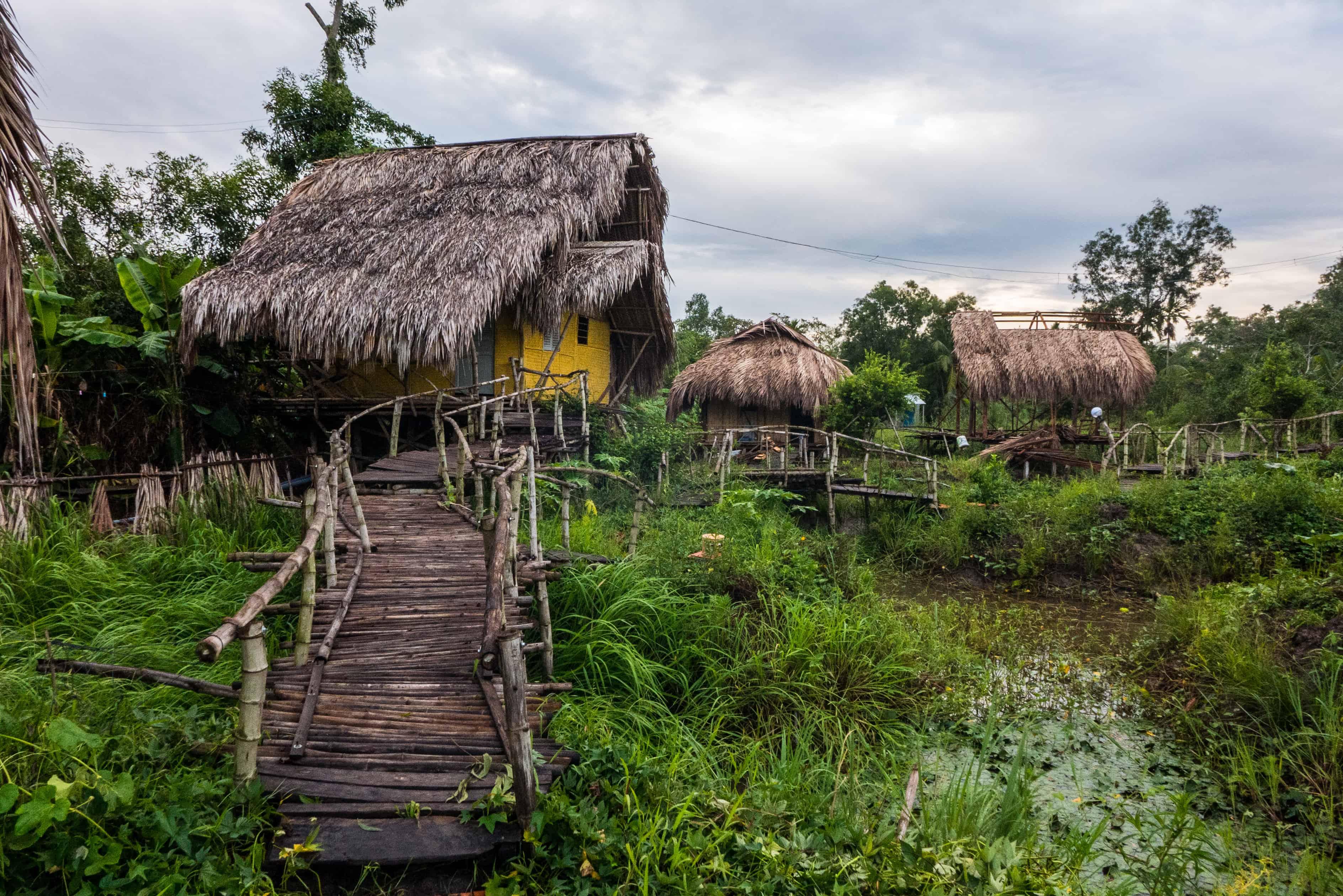 Delta Mekongu, nocleg w Can Tho, Lotus Village