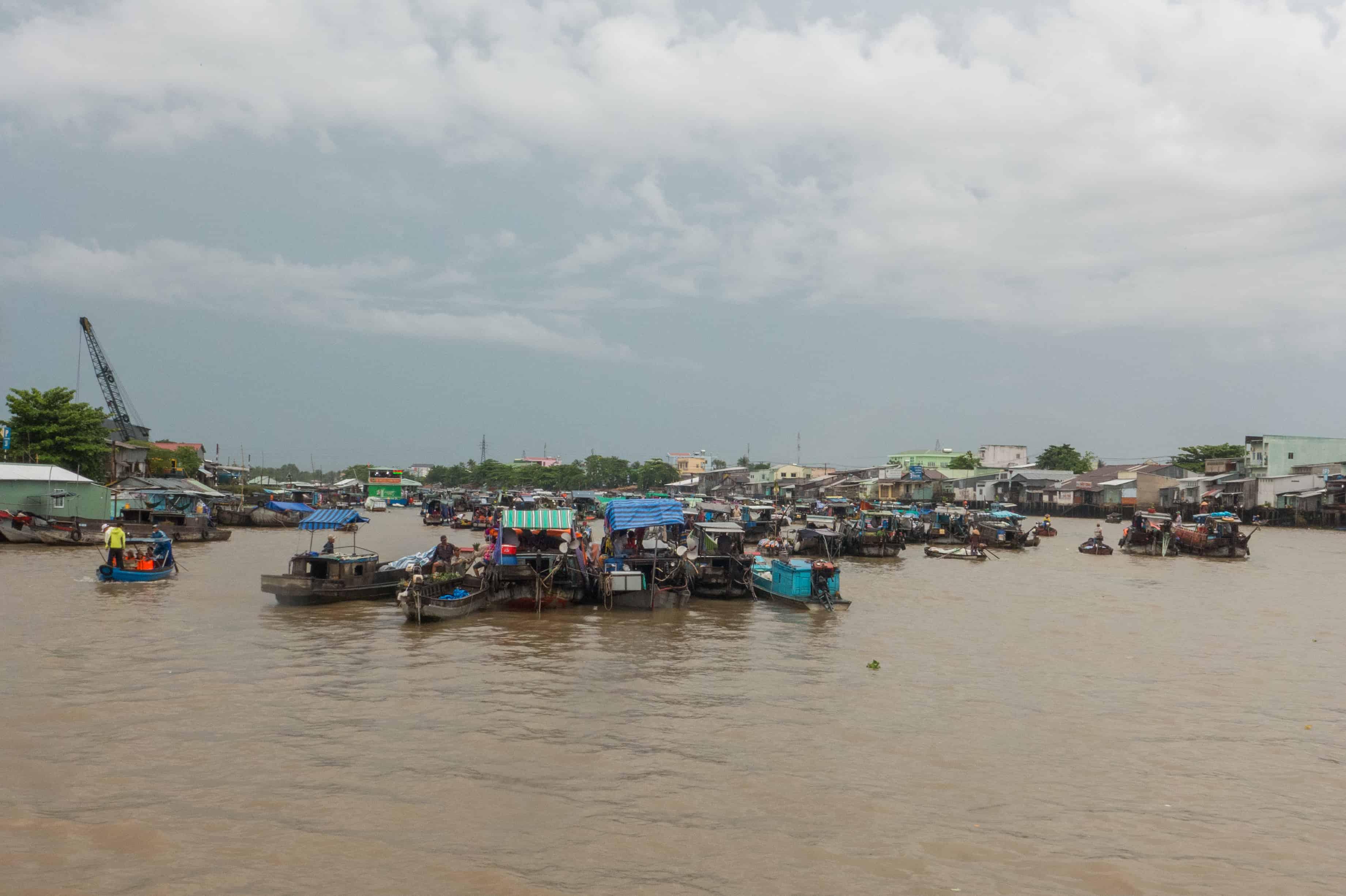 Cai Rang, Delta Mekongu