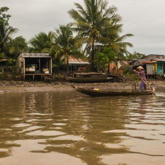 Delta Mekongu i pływający targ w Cai Rang. O krok od katastrofy