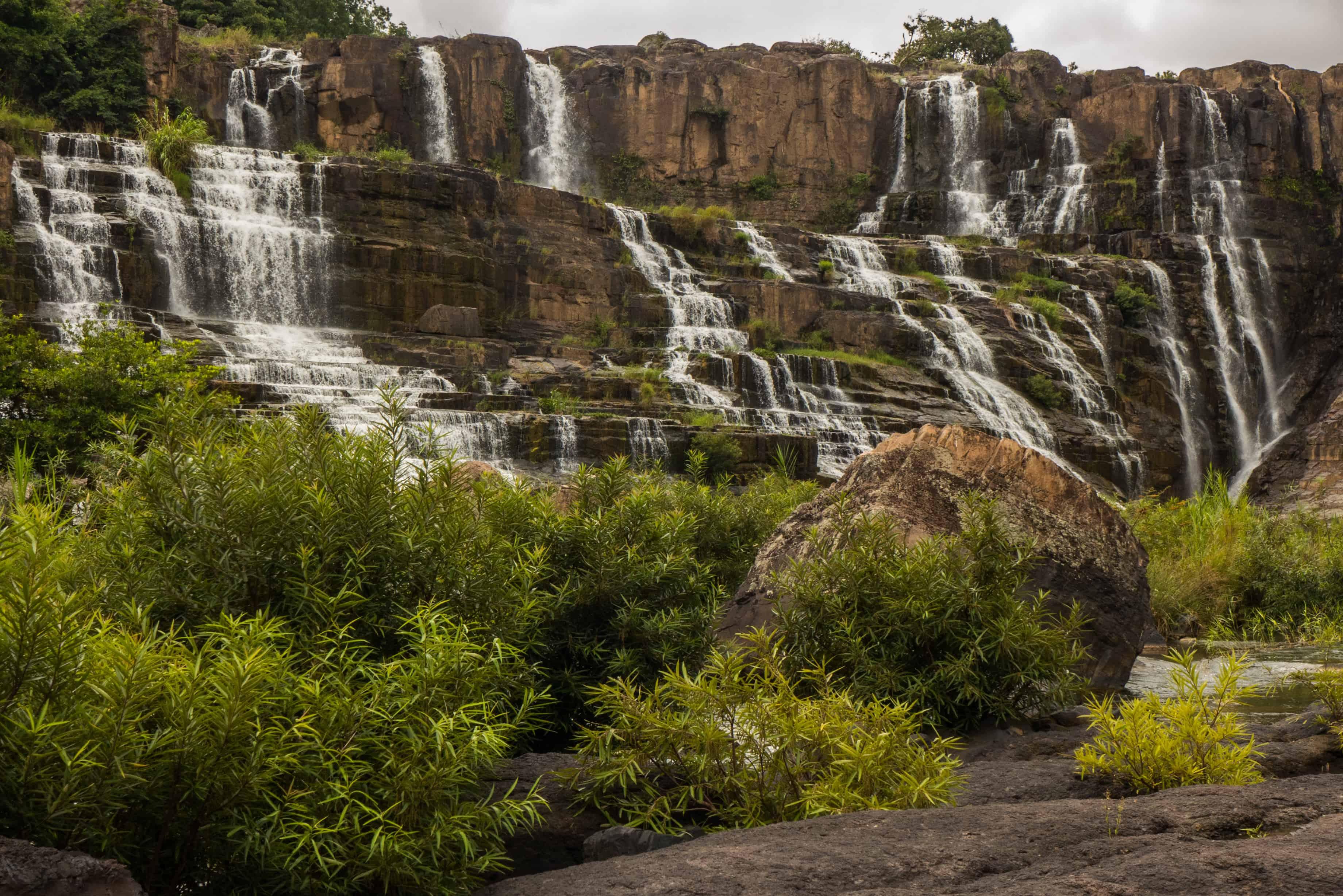 Pongour waterfall, wodospad Pongour