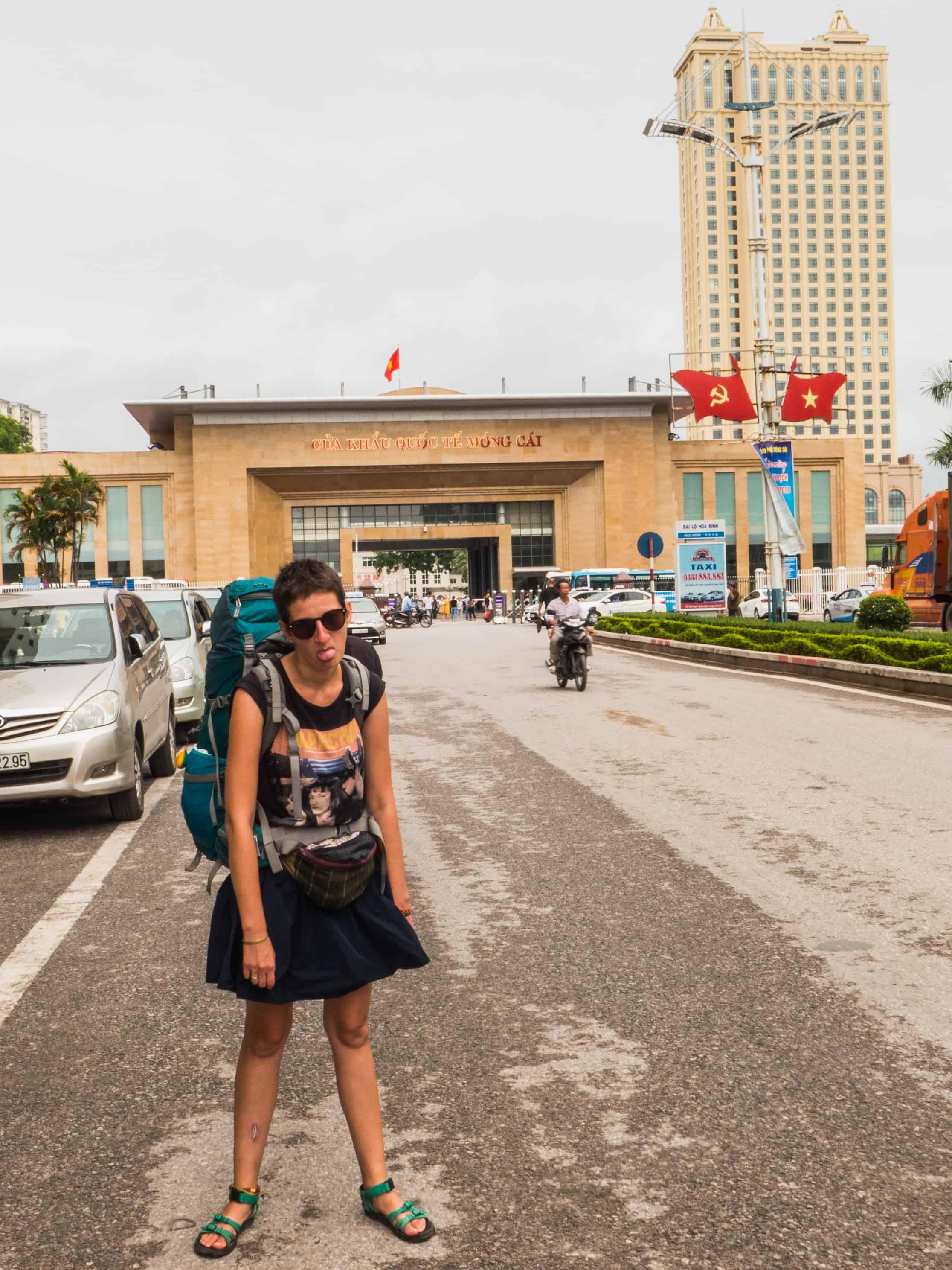 granica w Mong Cai