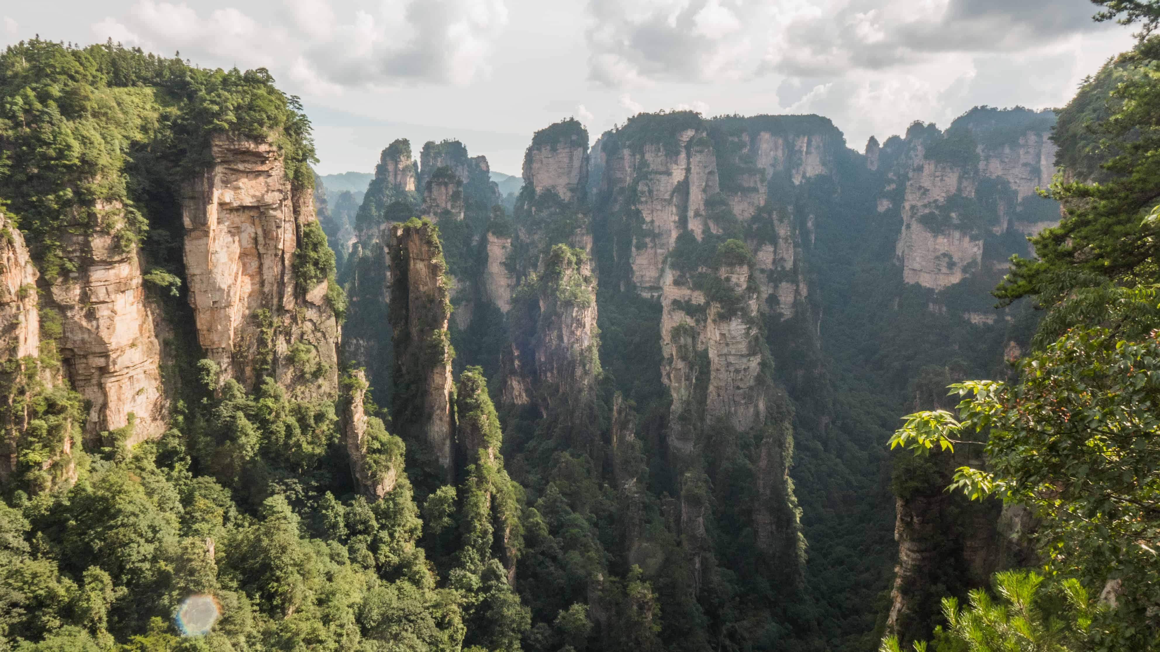 Zhangjiajie; Back Garden