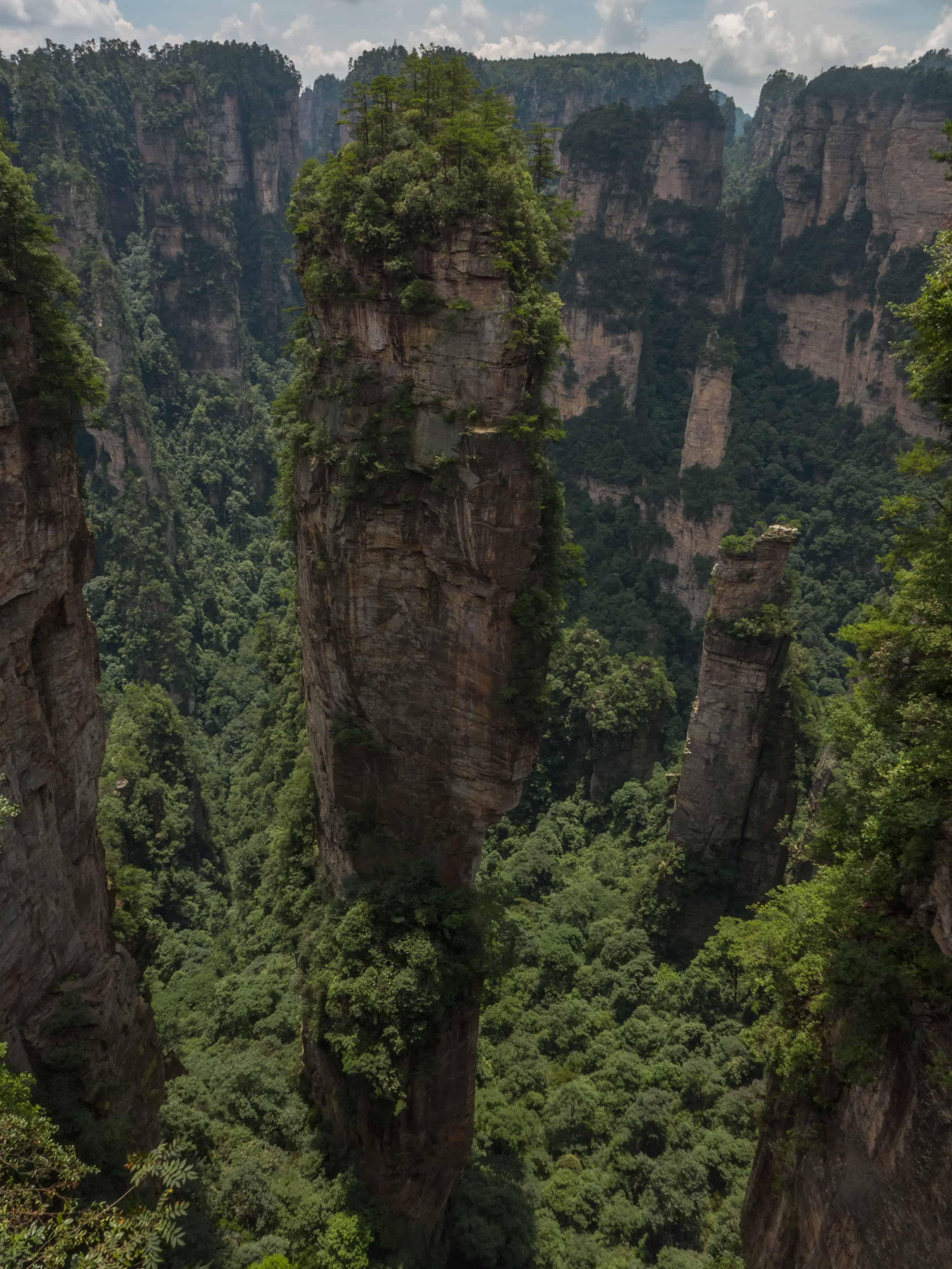 Zhangjiajie; Avatar Hallelujah Mountain