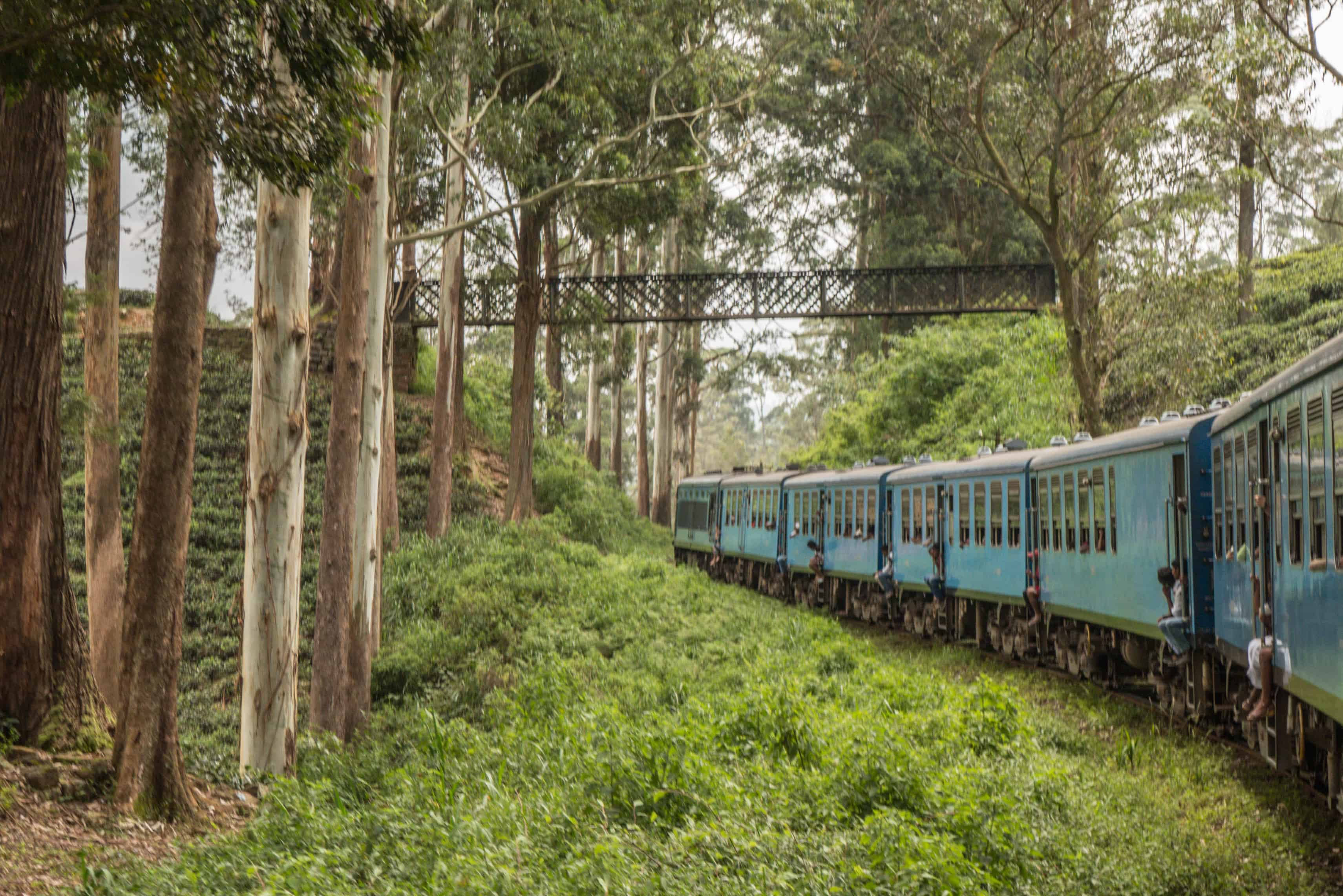 Sri Lanka; Kandy Ella train