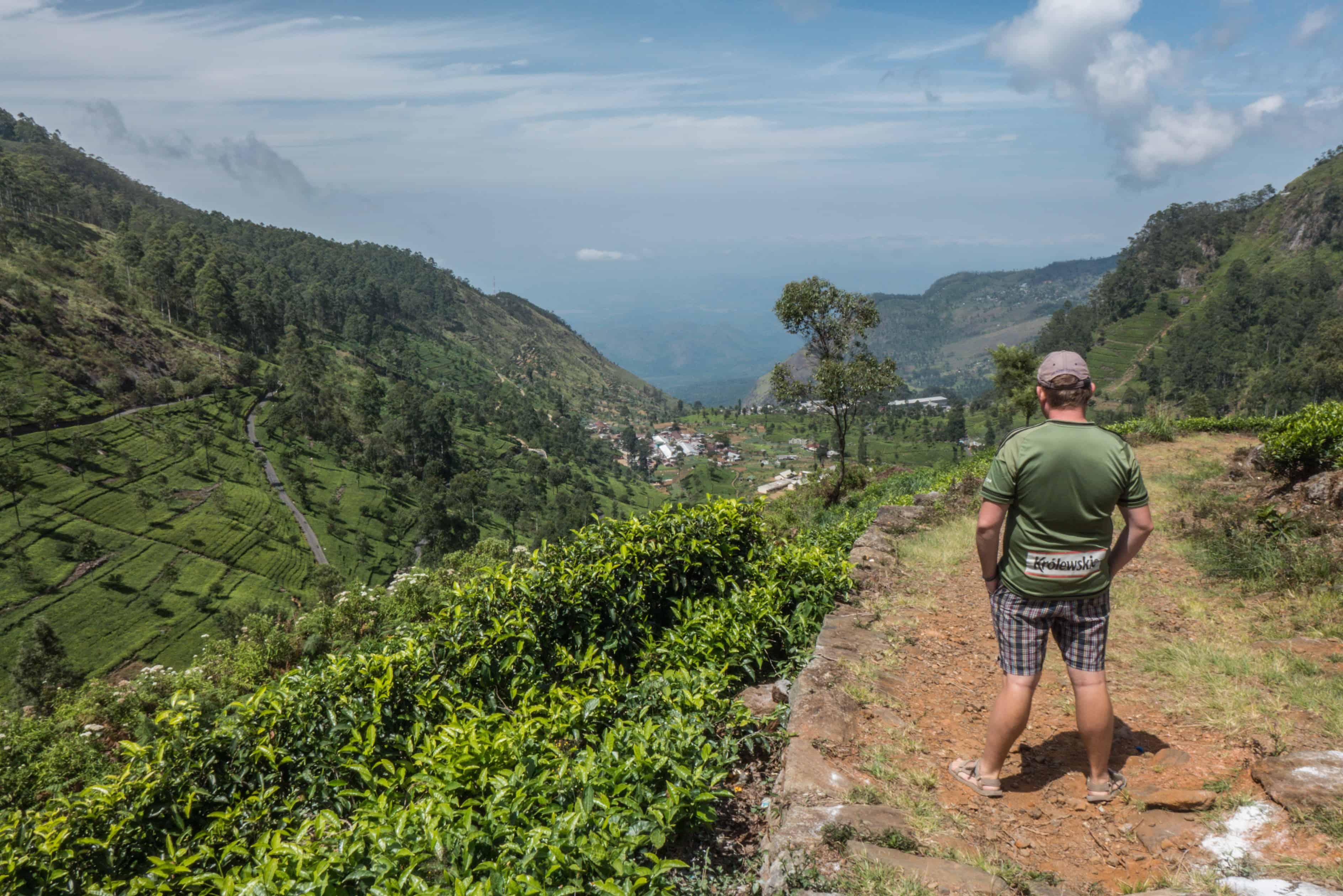 Sri Lanka. co zobaczyć ; Lipton's Seat