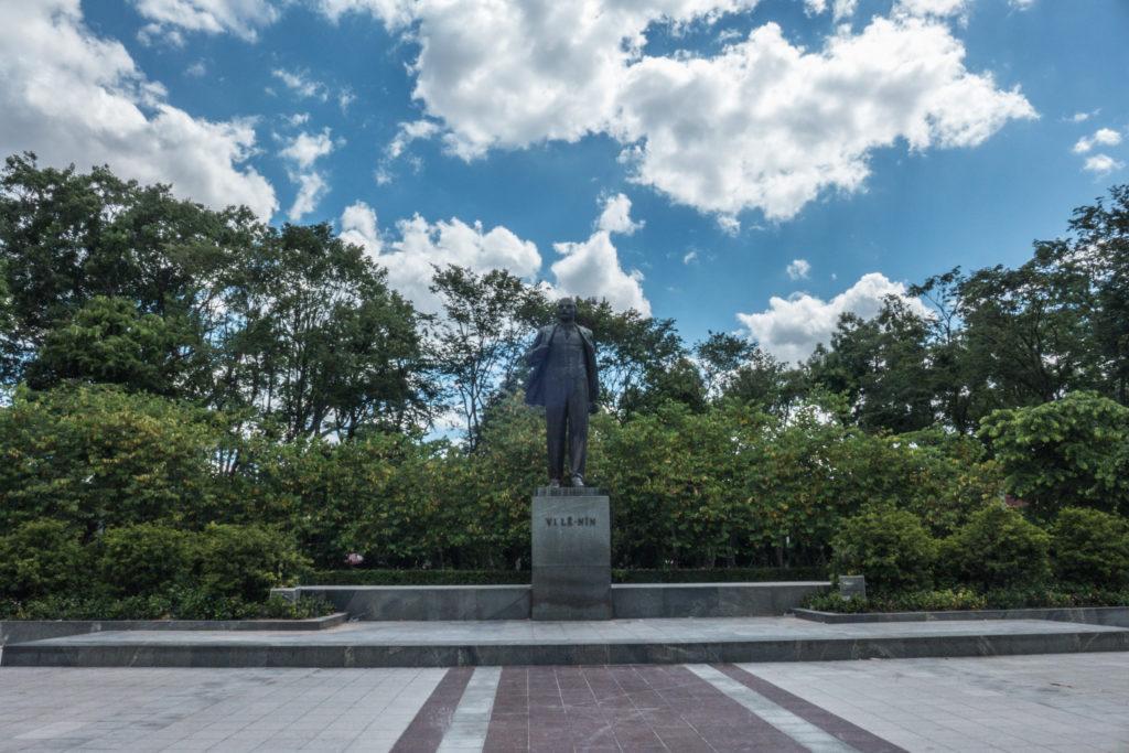 Wietnam, Hanoi, pomnik Lenina