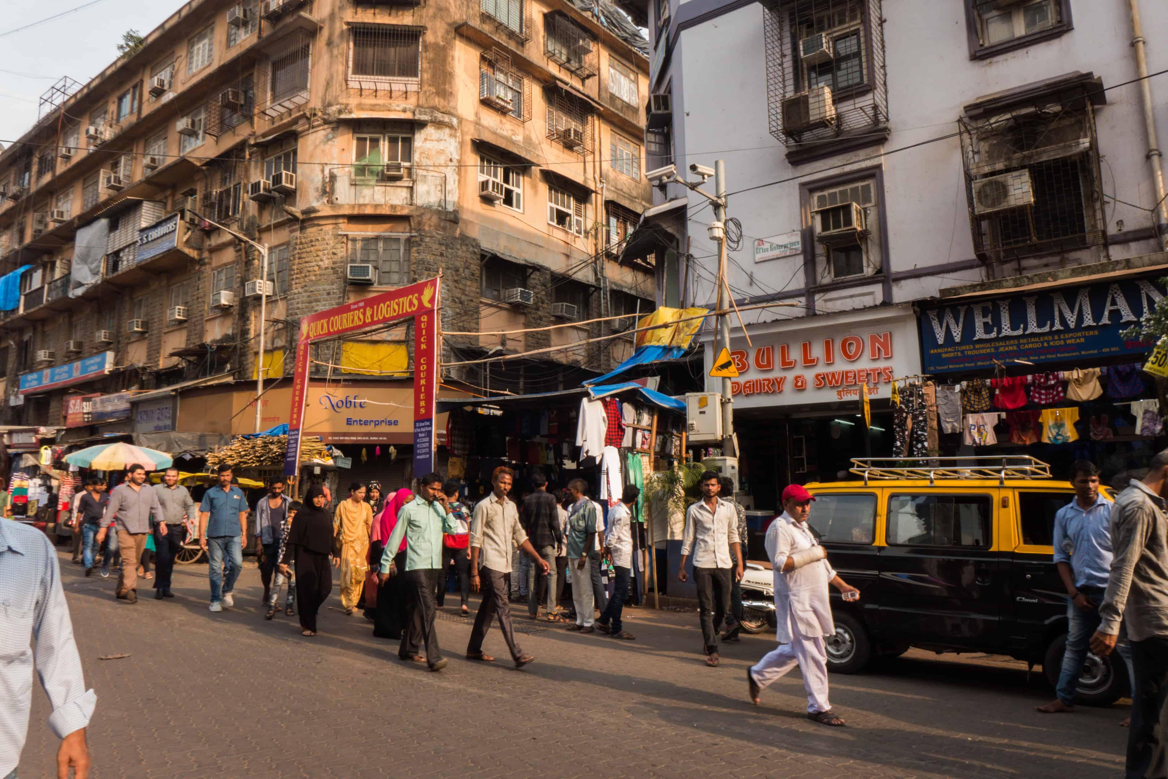 Indie: trasa Mumbaj