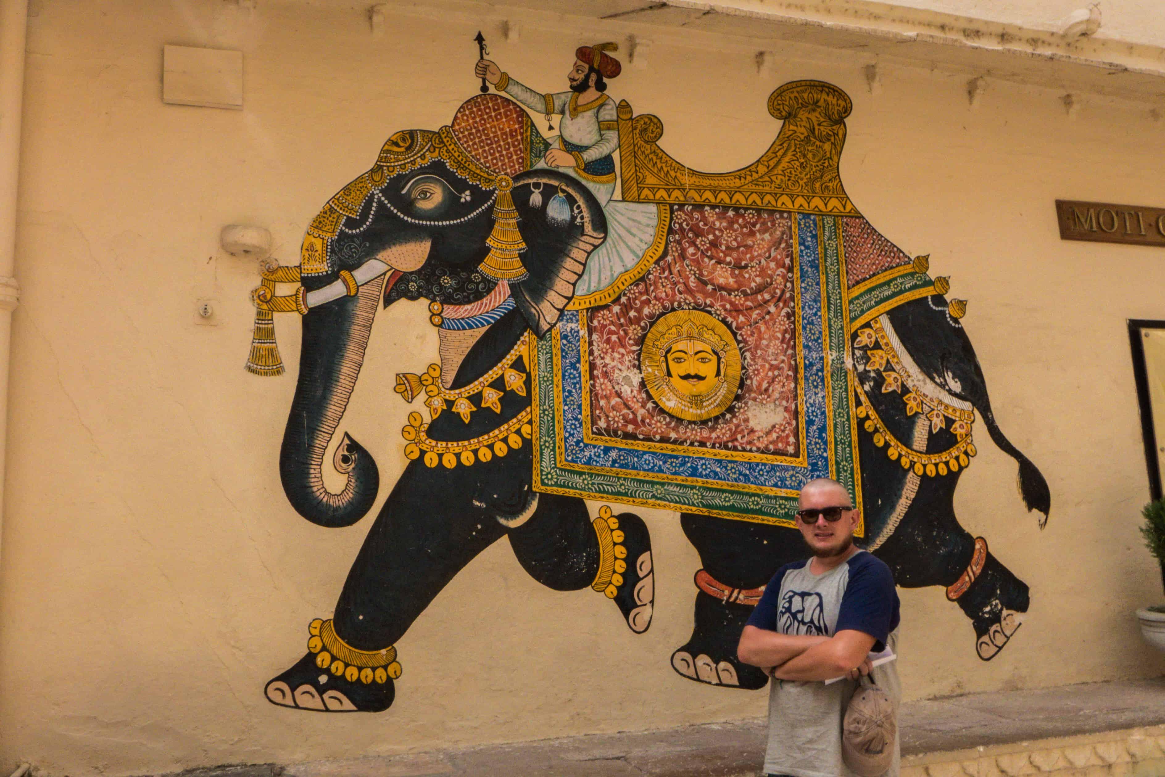 Indie: trasa Udajpur