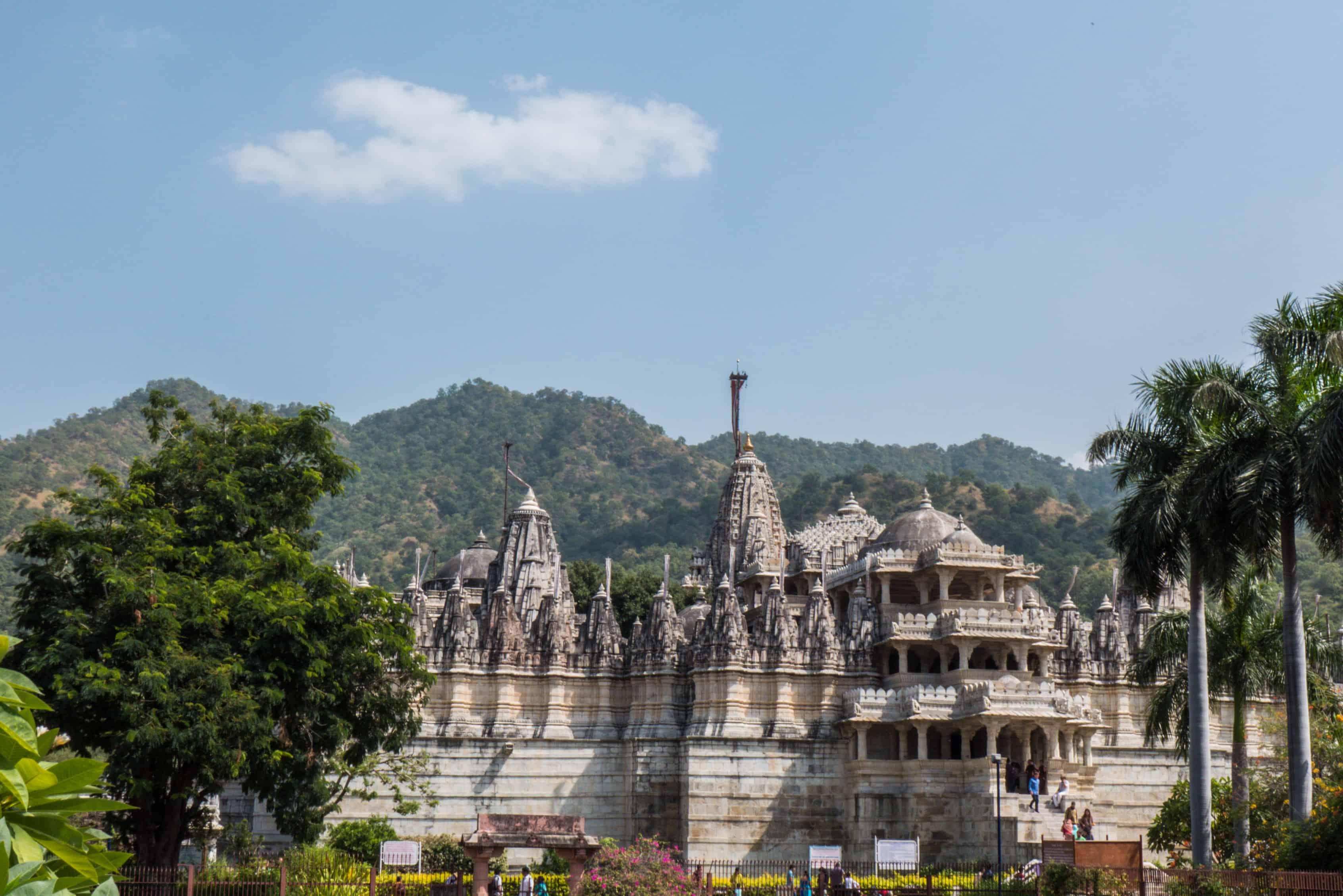 Indie: trasa Ranakpur