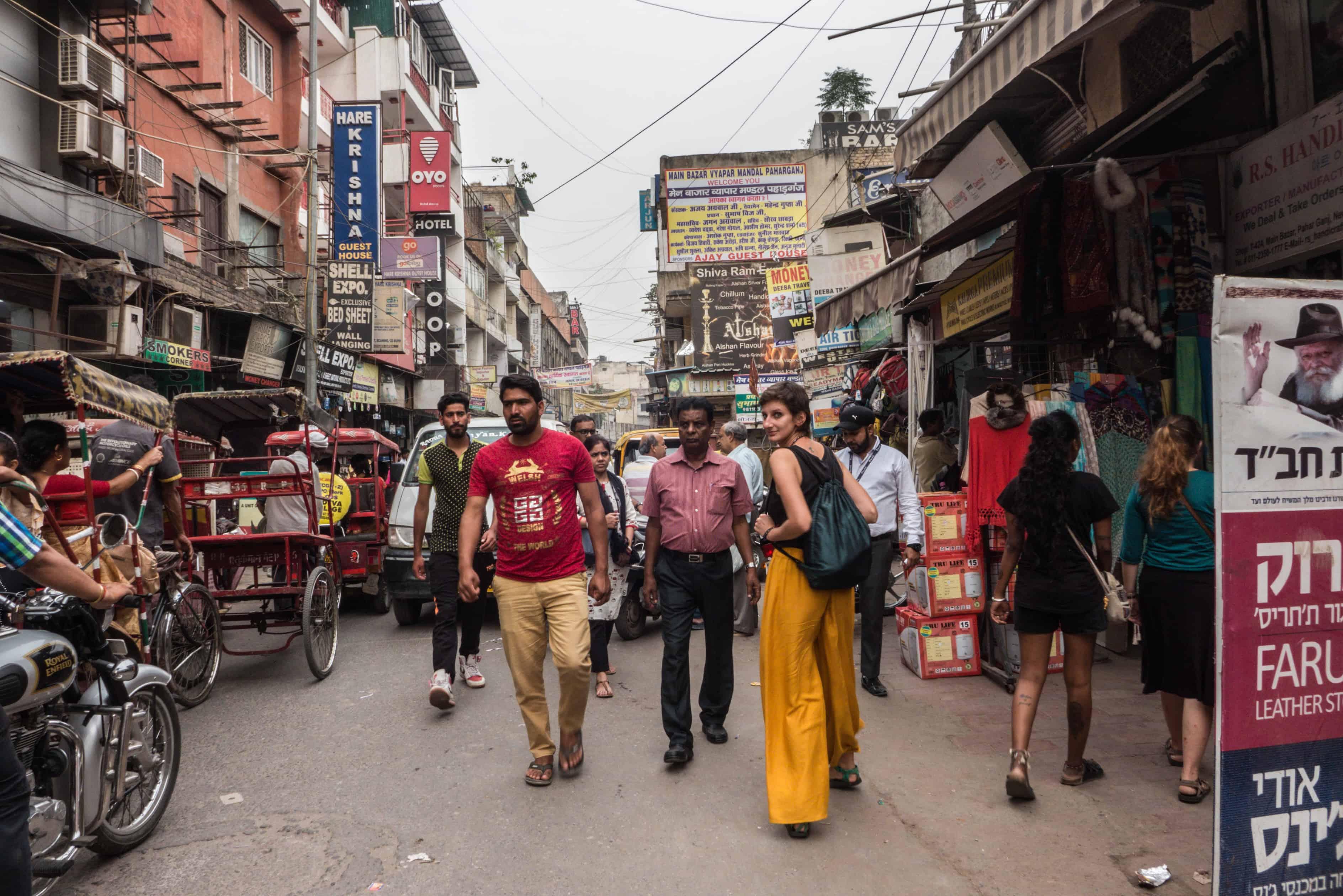 Indie: trasa New Delhi