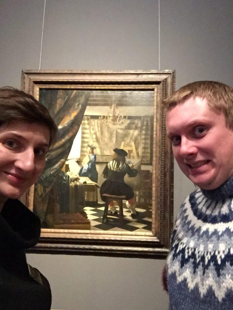 Wiedeń, Vermeer, Alegoria malarstwa