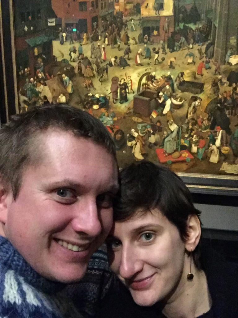 Wiedeń, Walka karnawału z postem, Bruegel