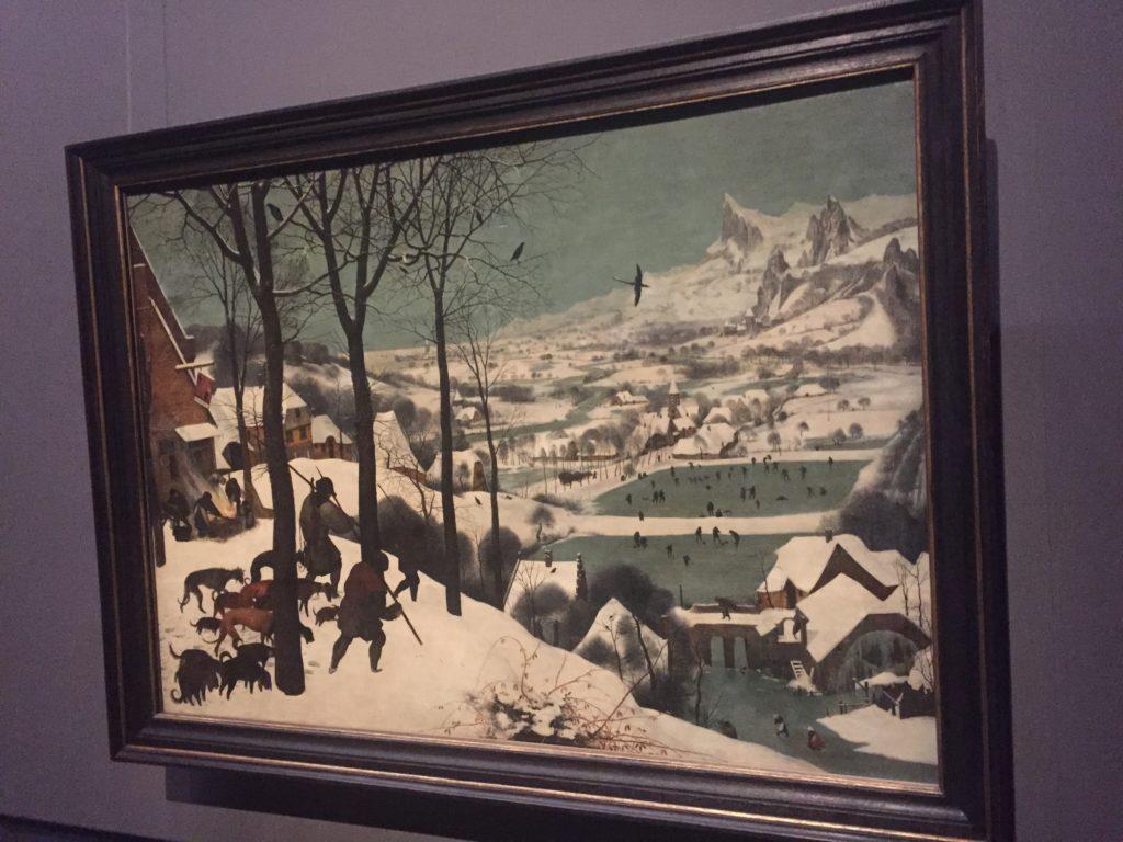 Wiedeń, Myśliwi na śniegu