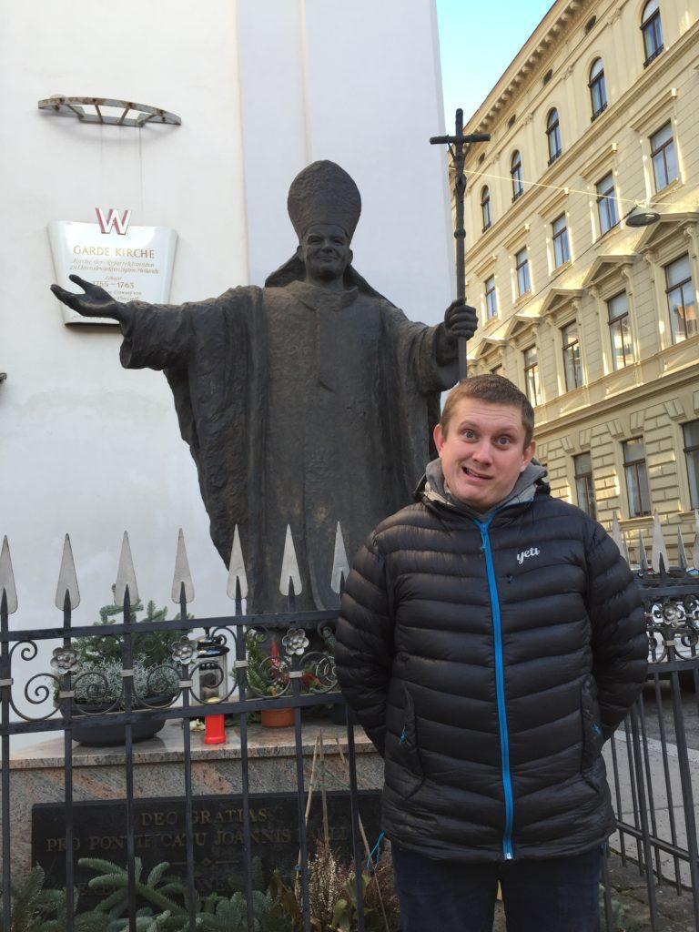 Wiedeń, Jan Paweł II