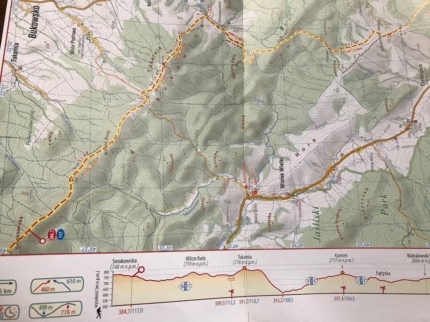 mapa GSB