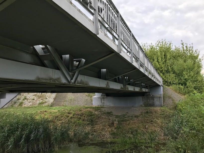 most spawany na Słudwi