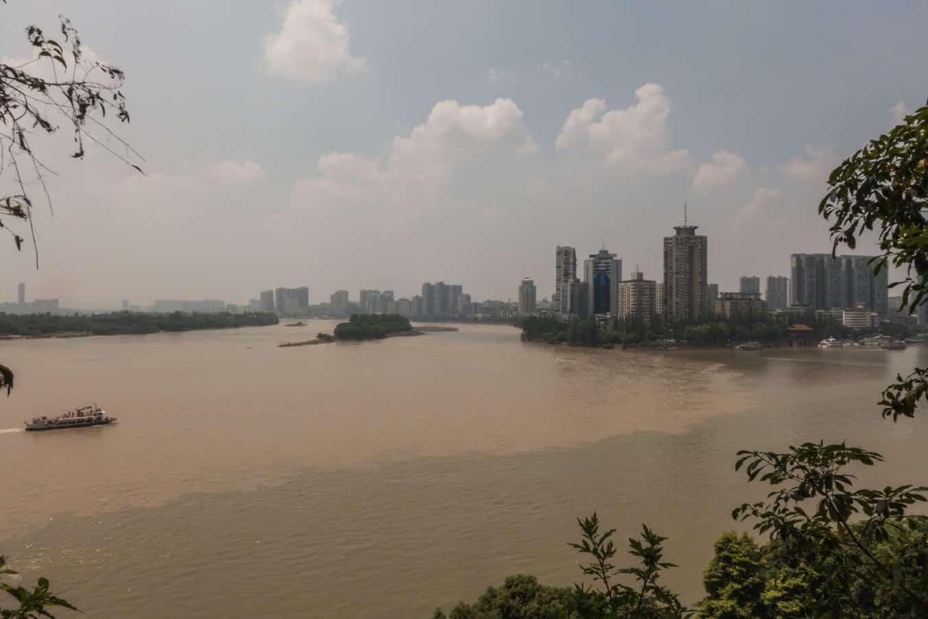 Leshan river