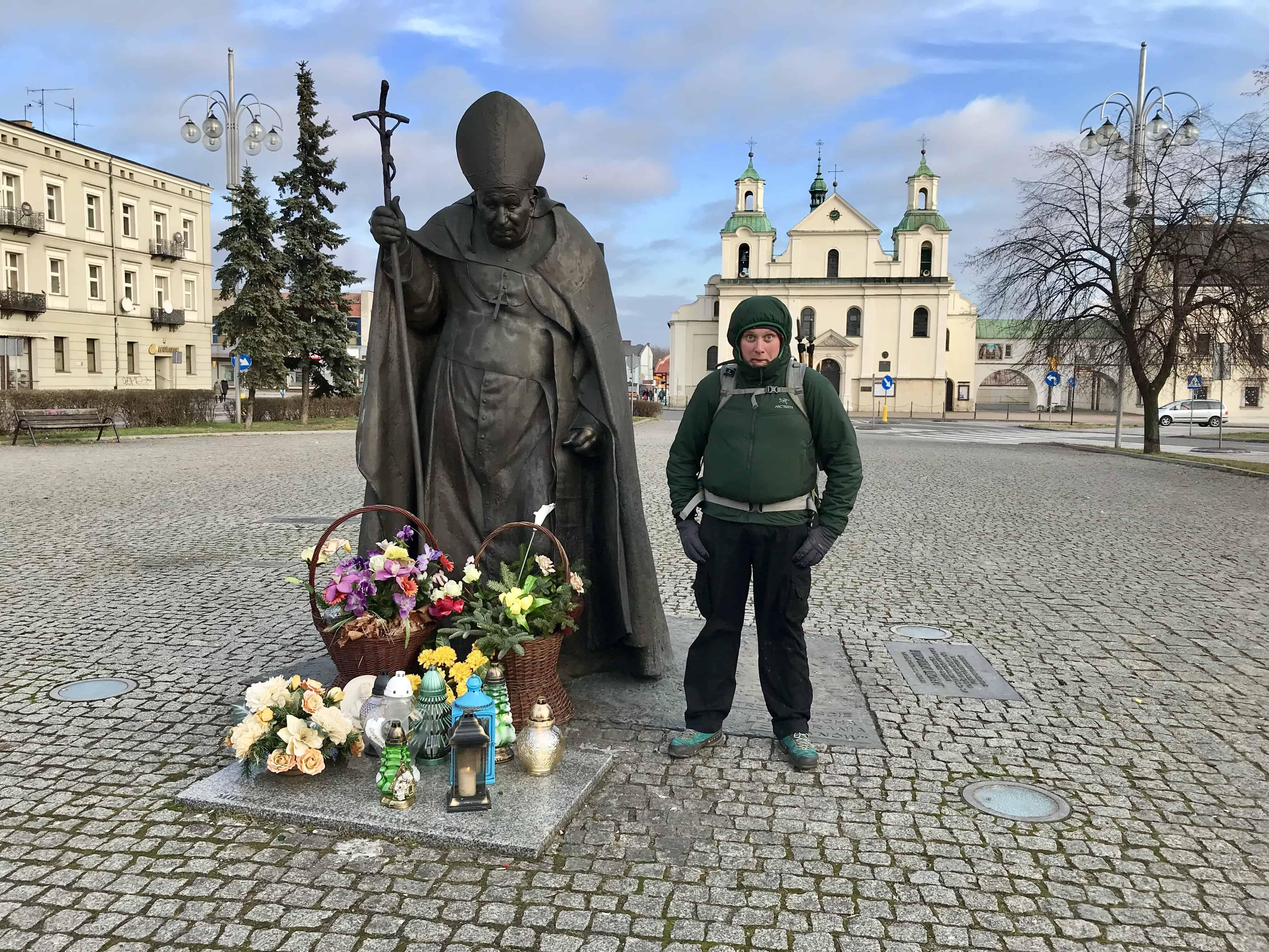 Częstochowa pomnik Jana Pawła II