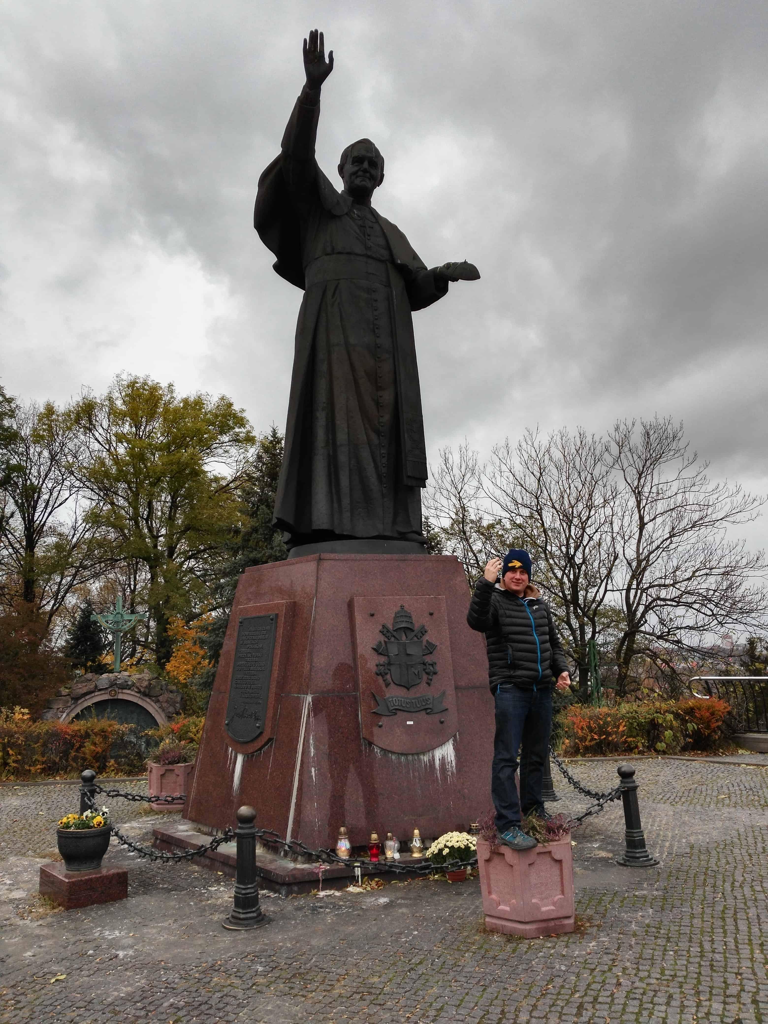 Częstochowa Jan Paweł II pomnik