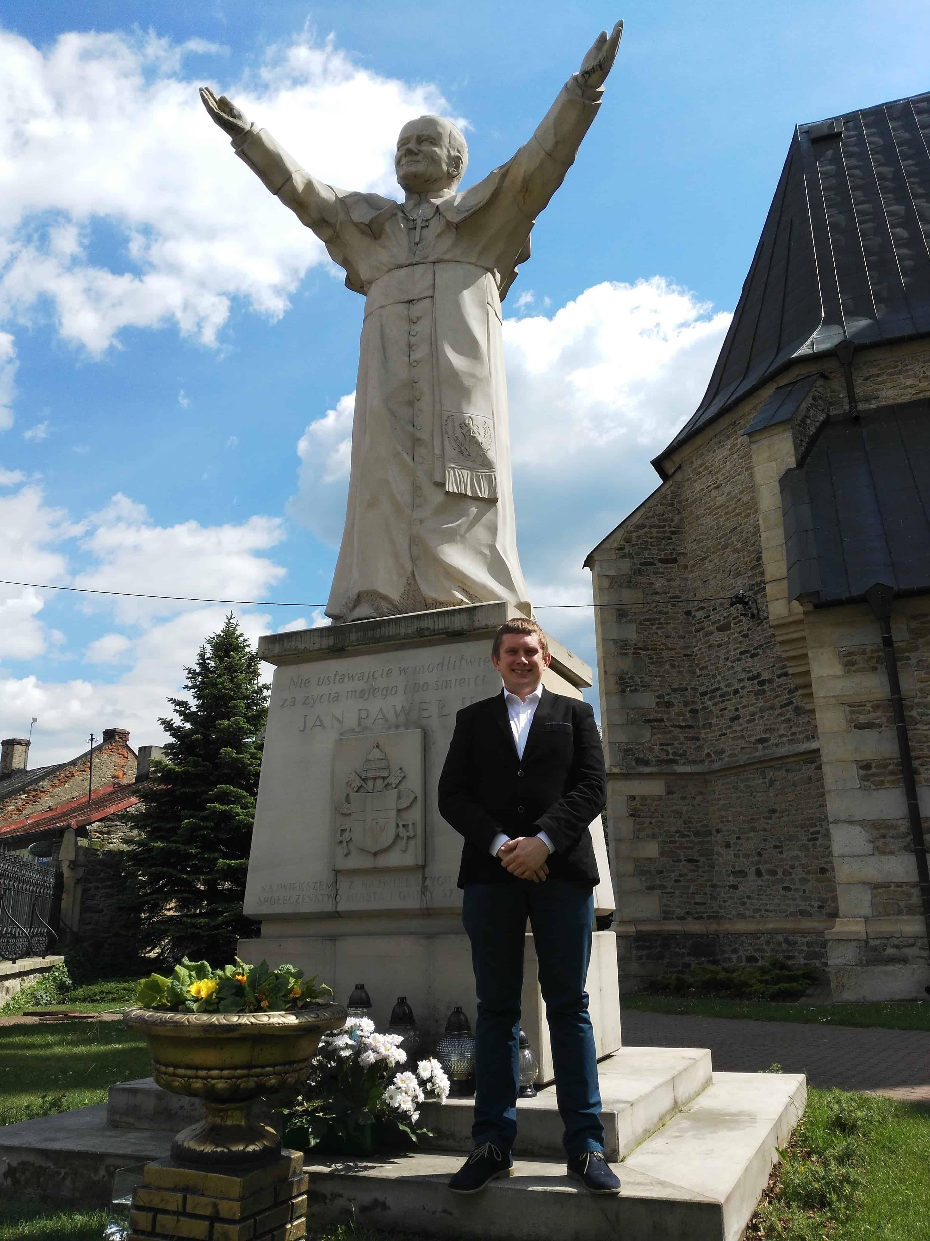 Szydłowiec Pomnik Jana Pawła II