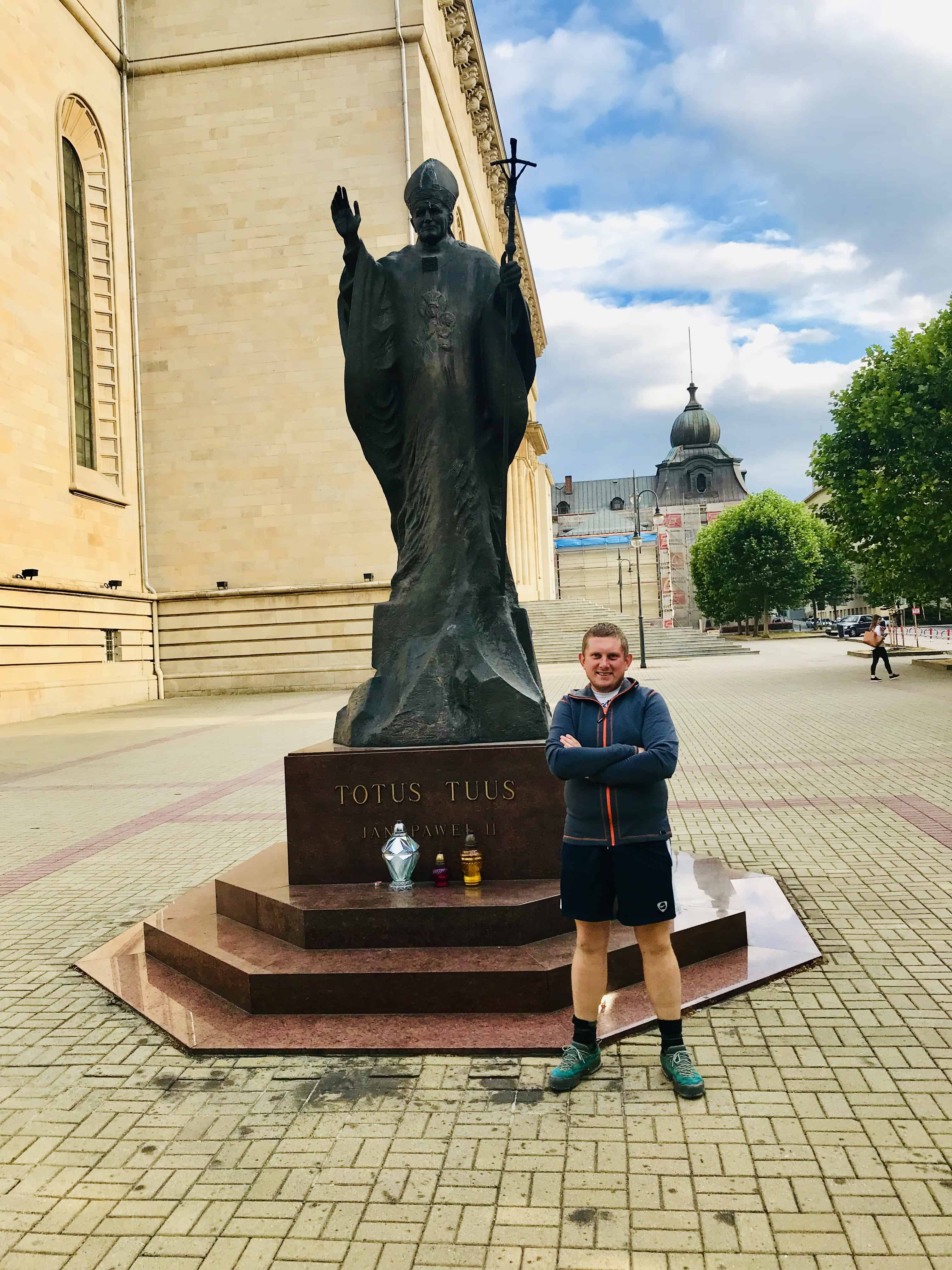 Pomniki Jana Pawła II Katowice
