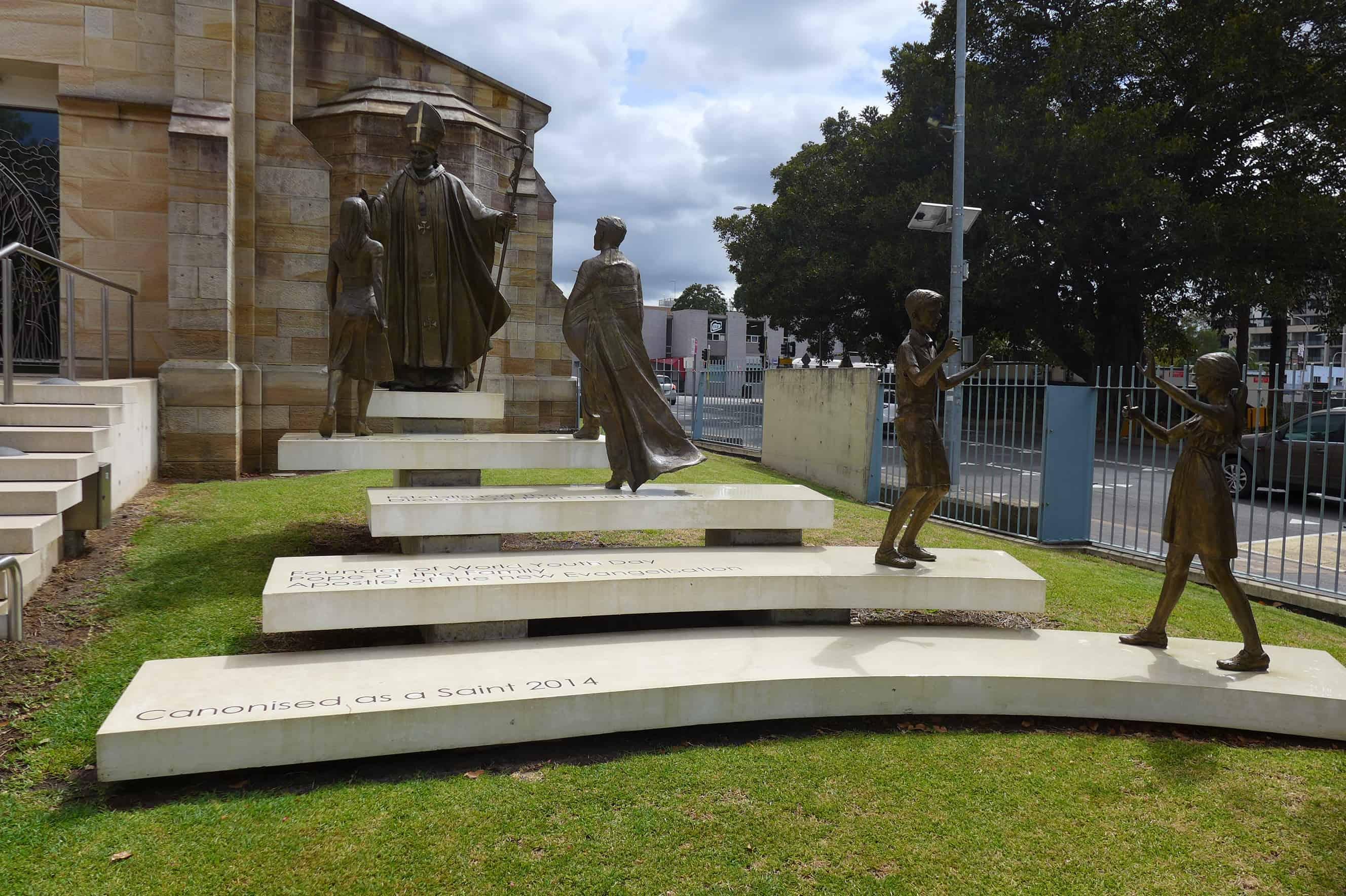 Pomniki Jana Pawła II Parramatta